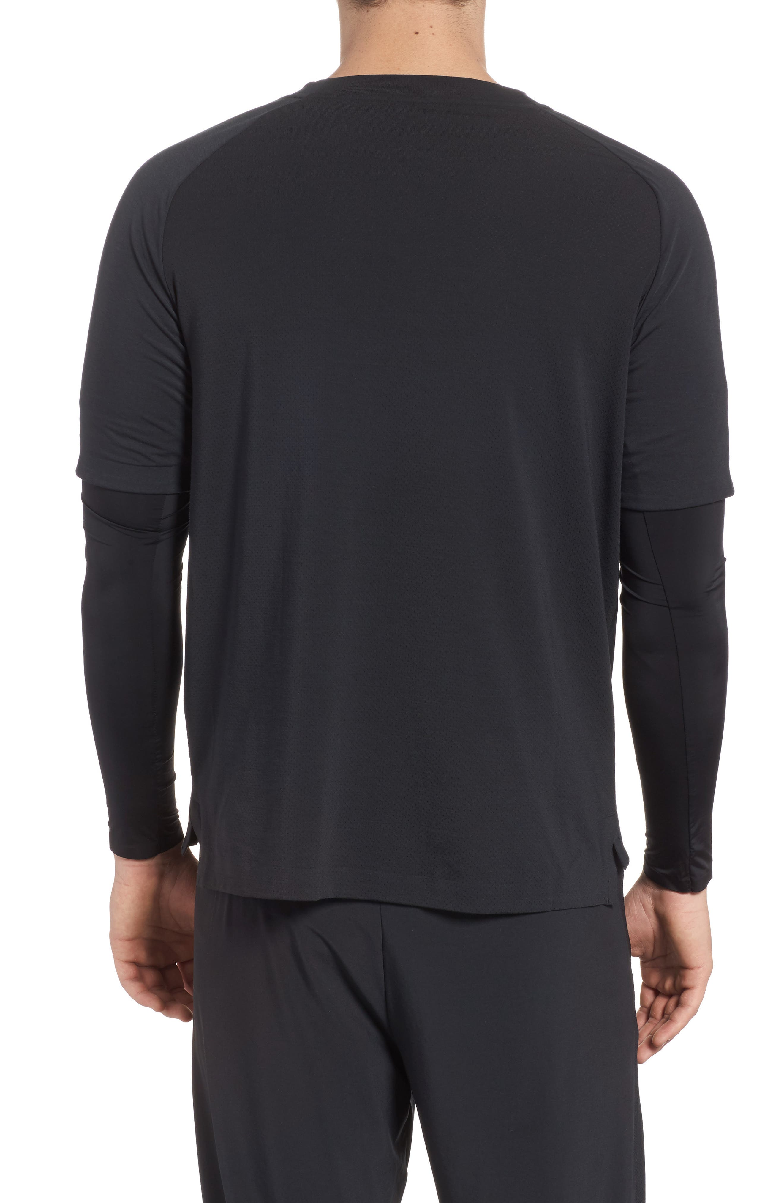Alternate Image 2  - Nike Run Division Dry Layered Long Sleeve T-Shirt