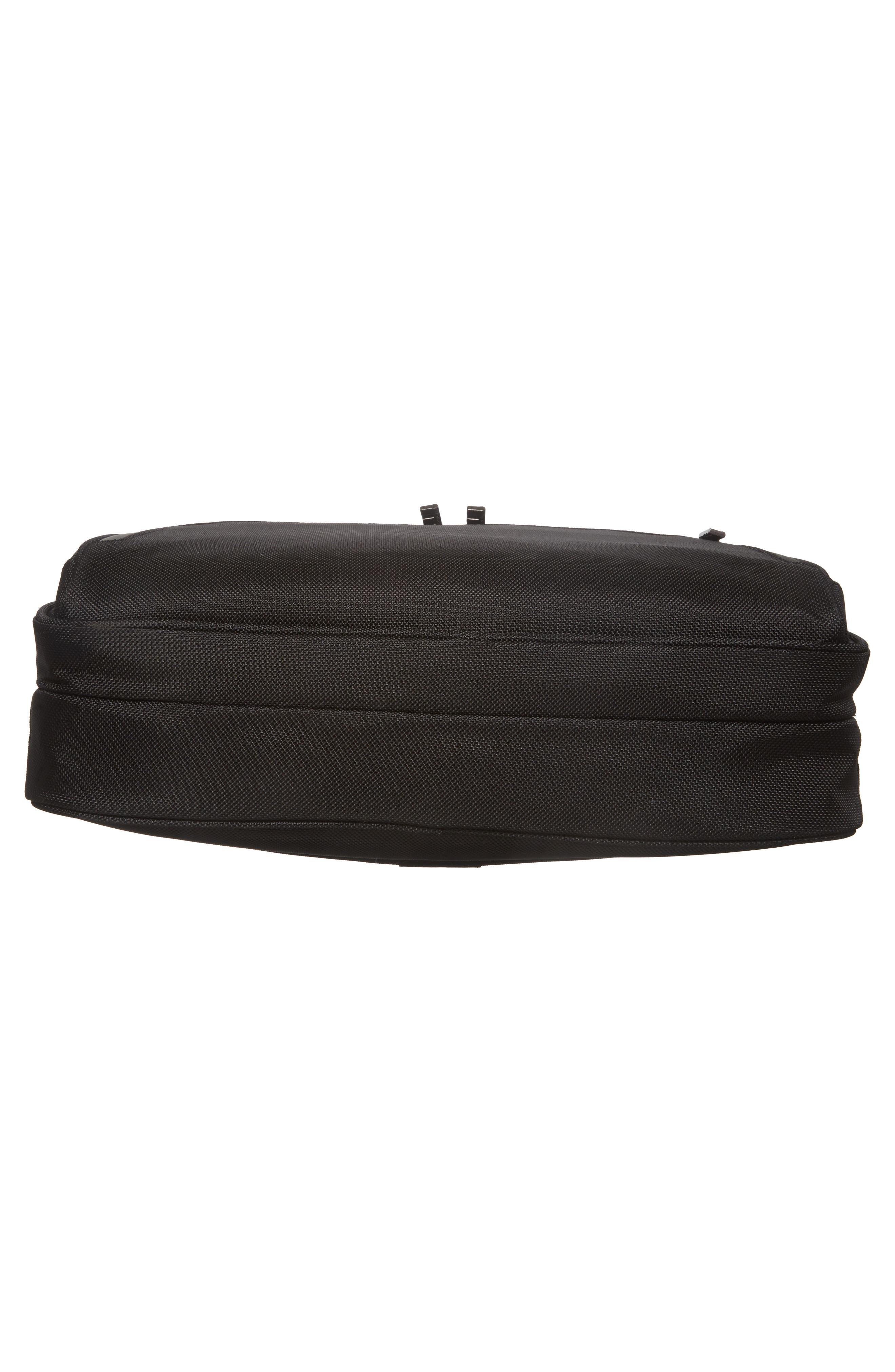 'Medium' Ballistic Nylon Briefcase,                             Alternate thumbnail 6, color,                             Black