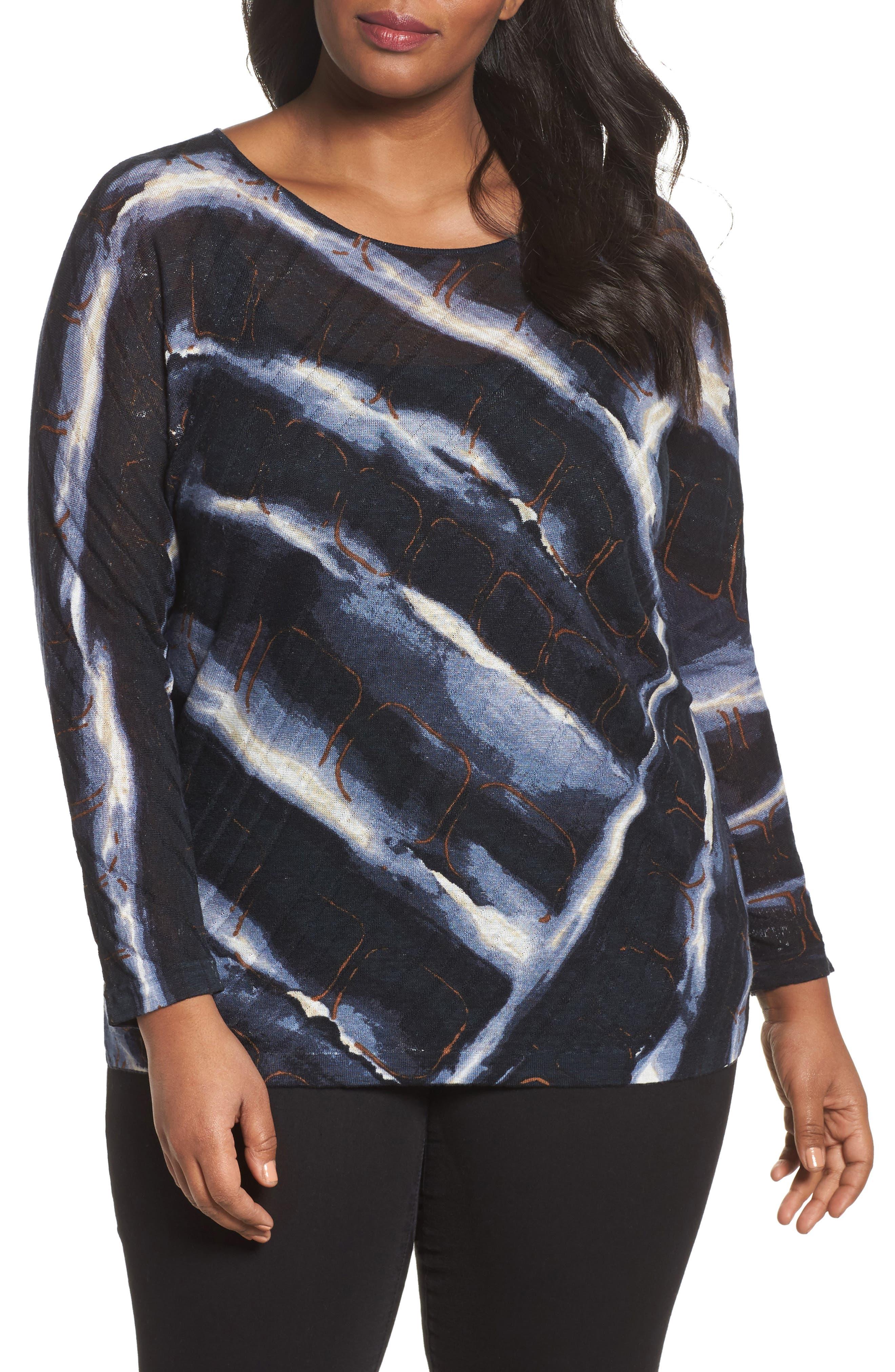 Wave Sweater,                         Main,                         color, Multi
