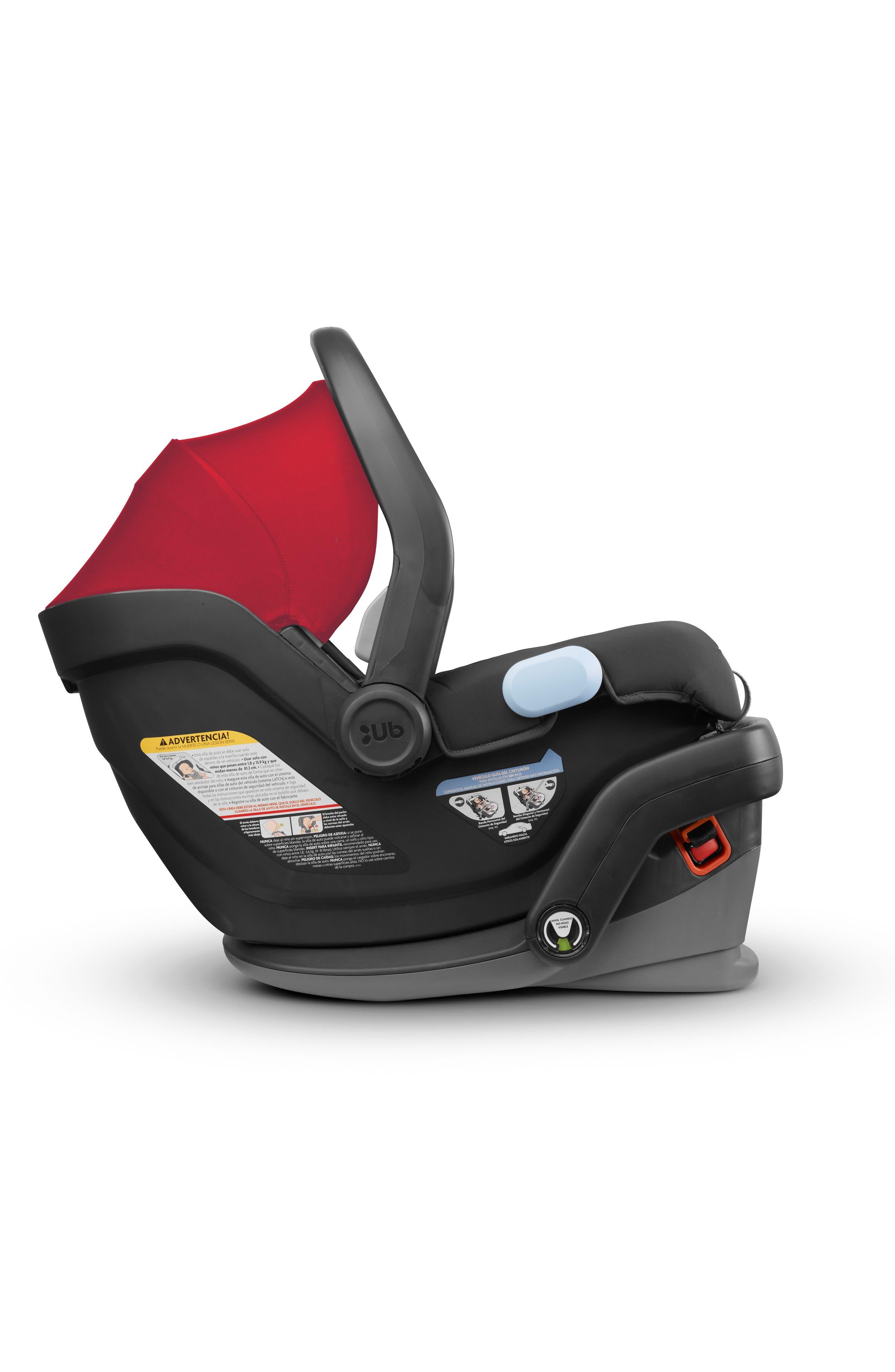 2018 MESA Infant Car Seat,                             Alternate thumbnail 4, color,                             Denny Red