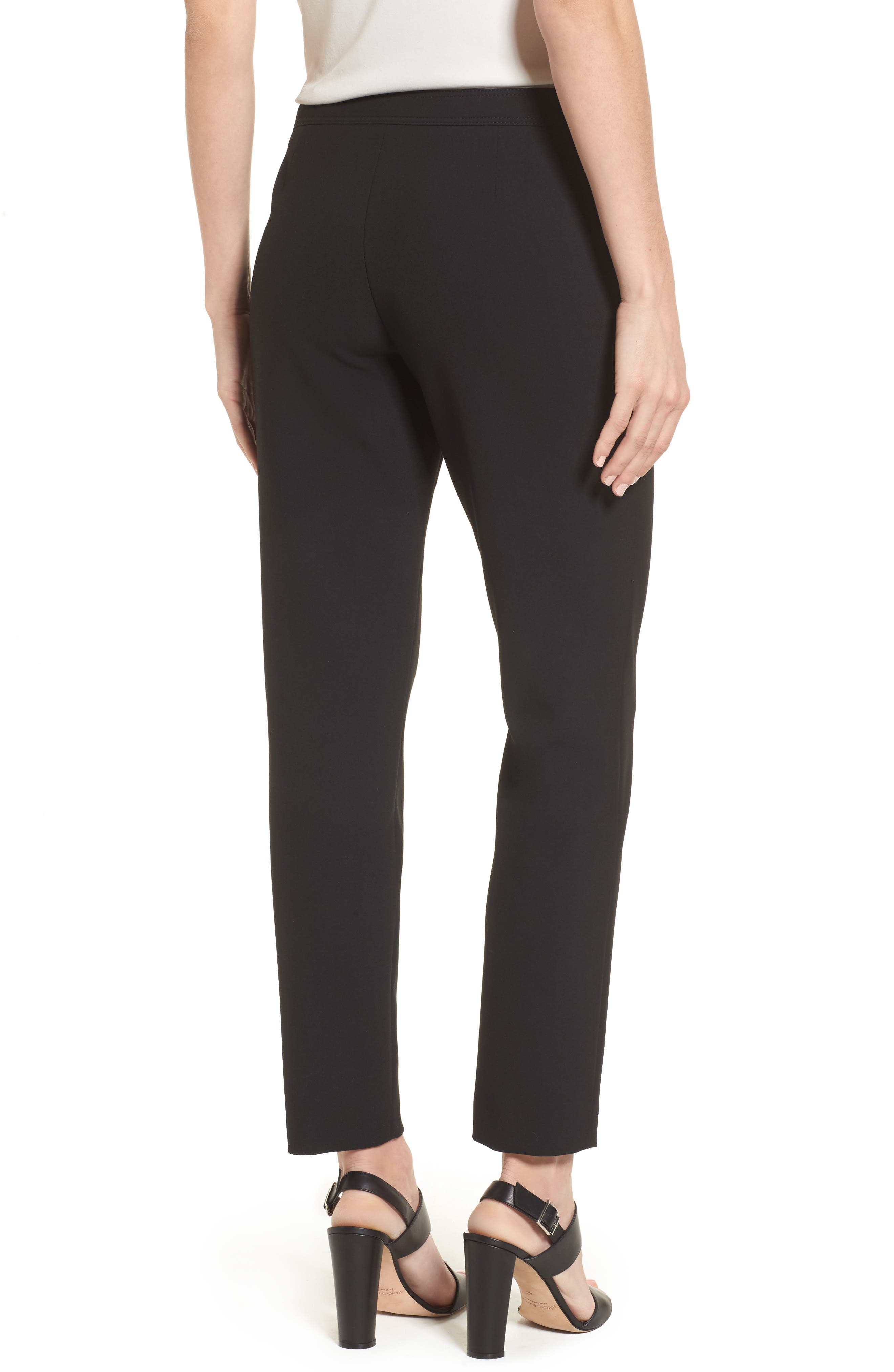 Alternate Image 2  - BOSS Tiokenia Slim Leg Trousers (Regular & Petite)