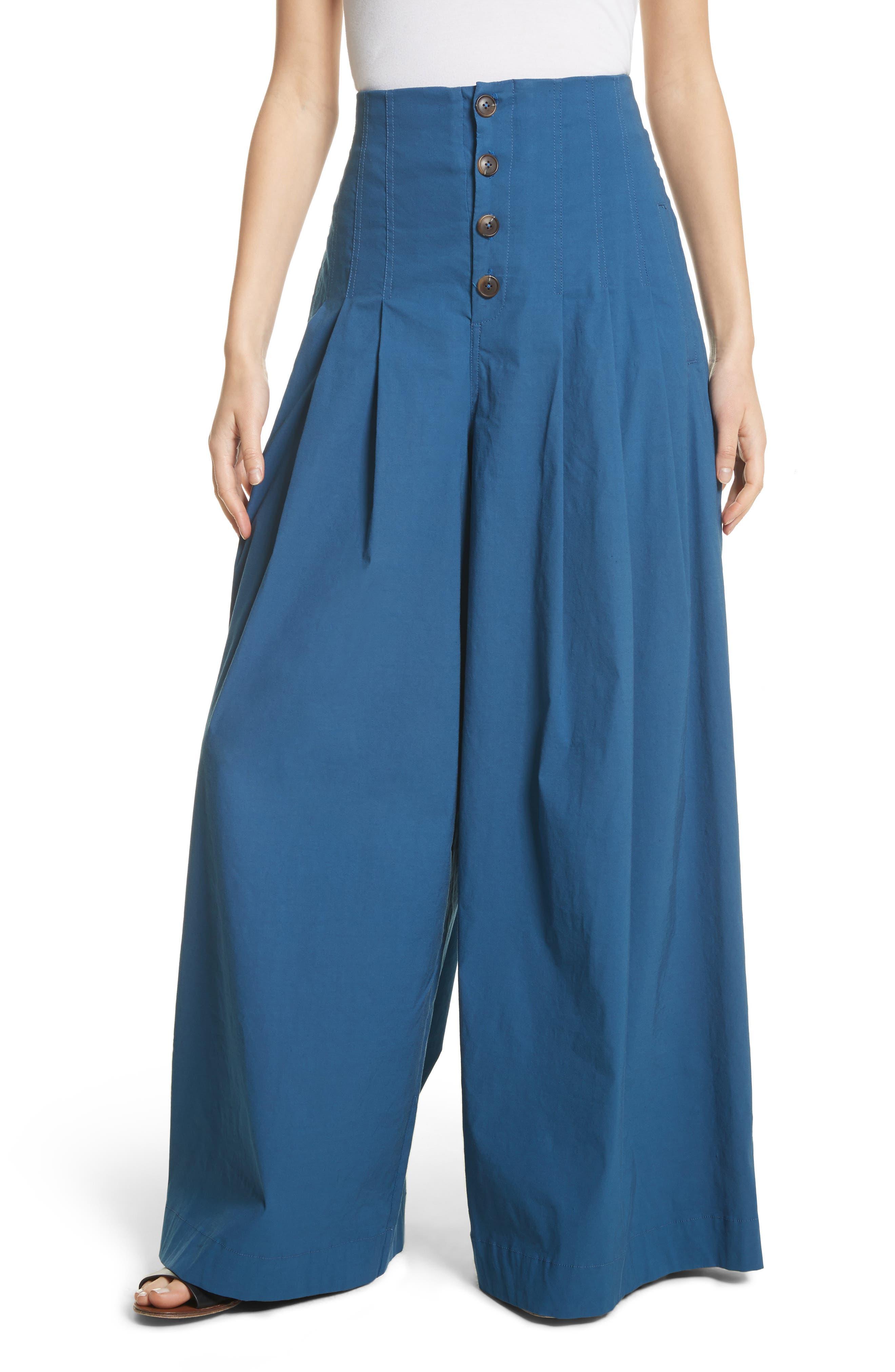Sea Bernadette High Waist Wide Leg Pants