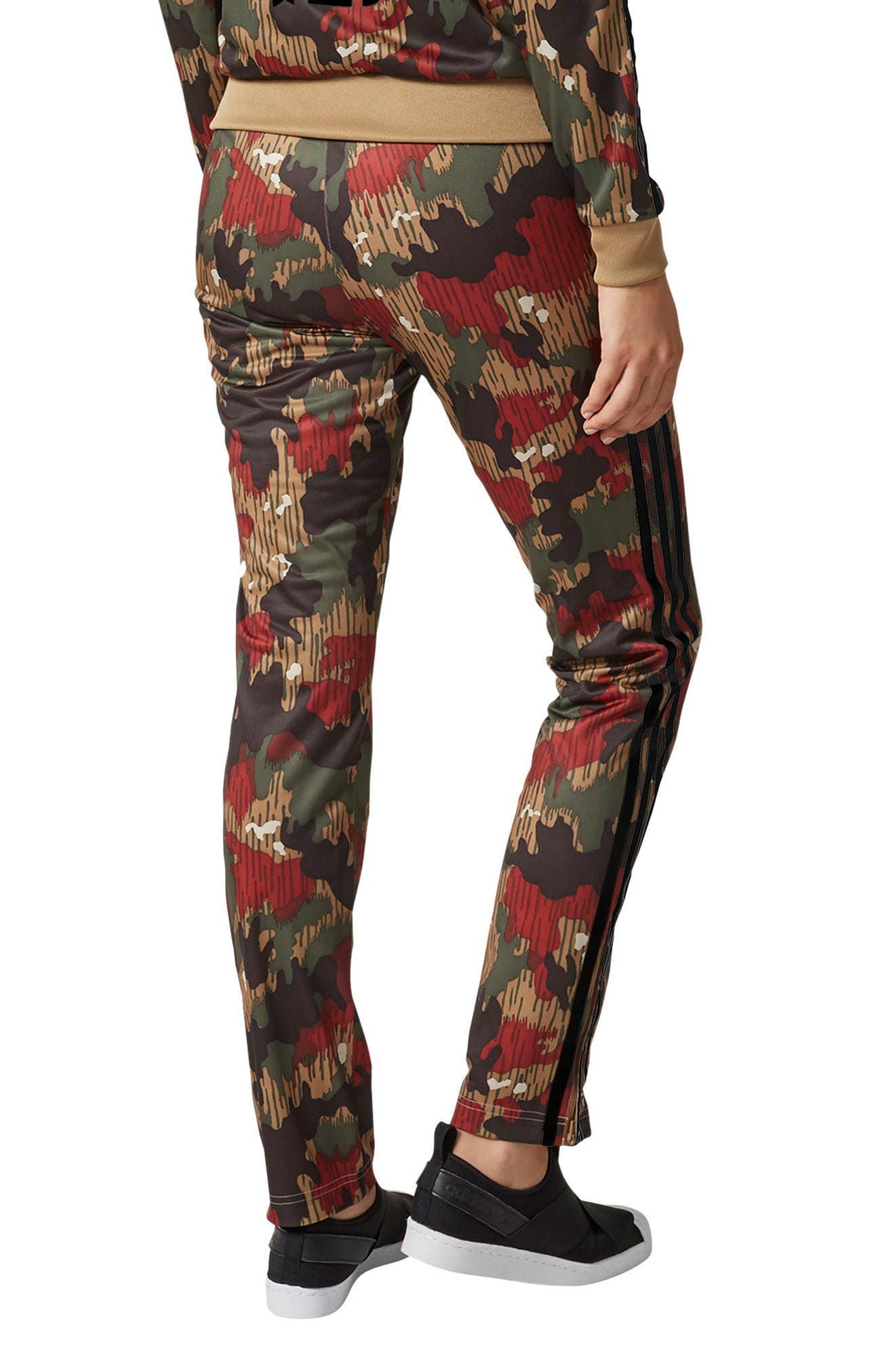 Originals Pharrell Williams Hu Hiking Pants,                             Alternate thumbnail 2, color,                             Swiss Camo