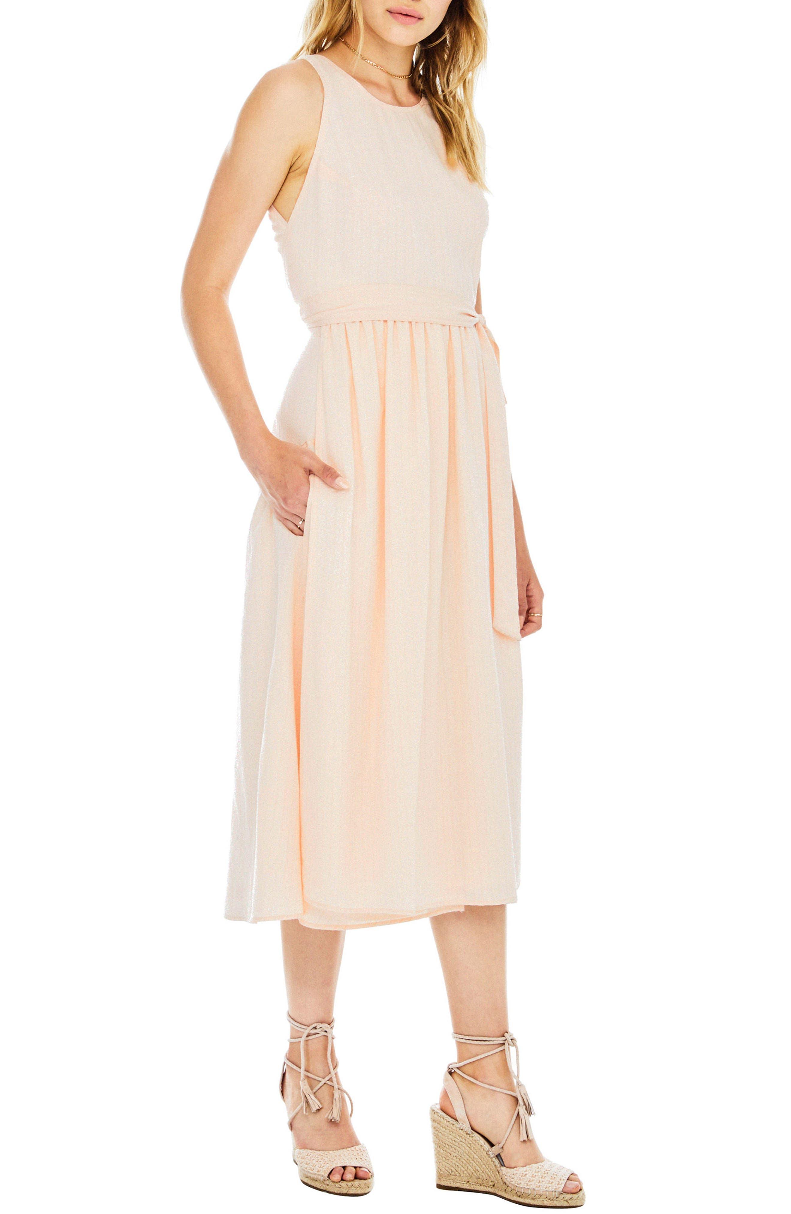 Brady Dress,                             Alternate thumbnail 4, color,                             Powder Pink