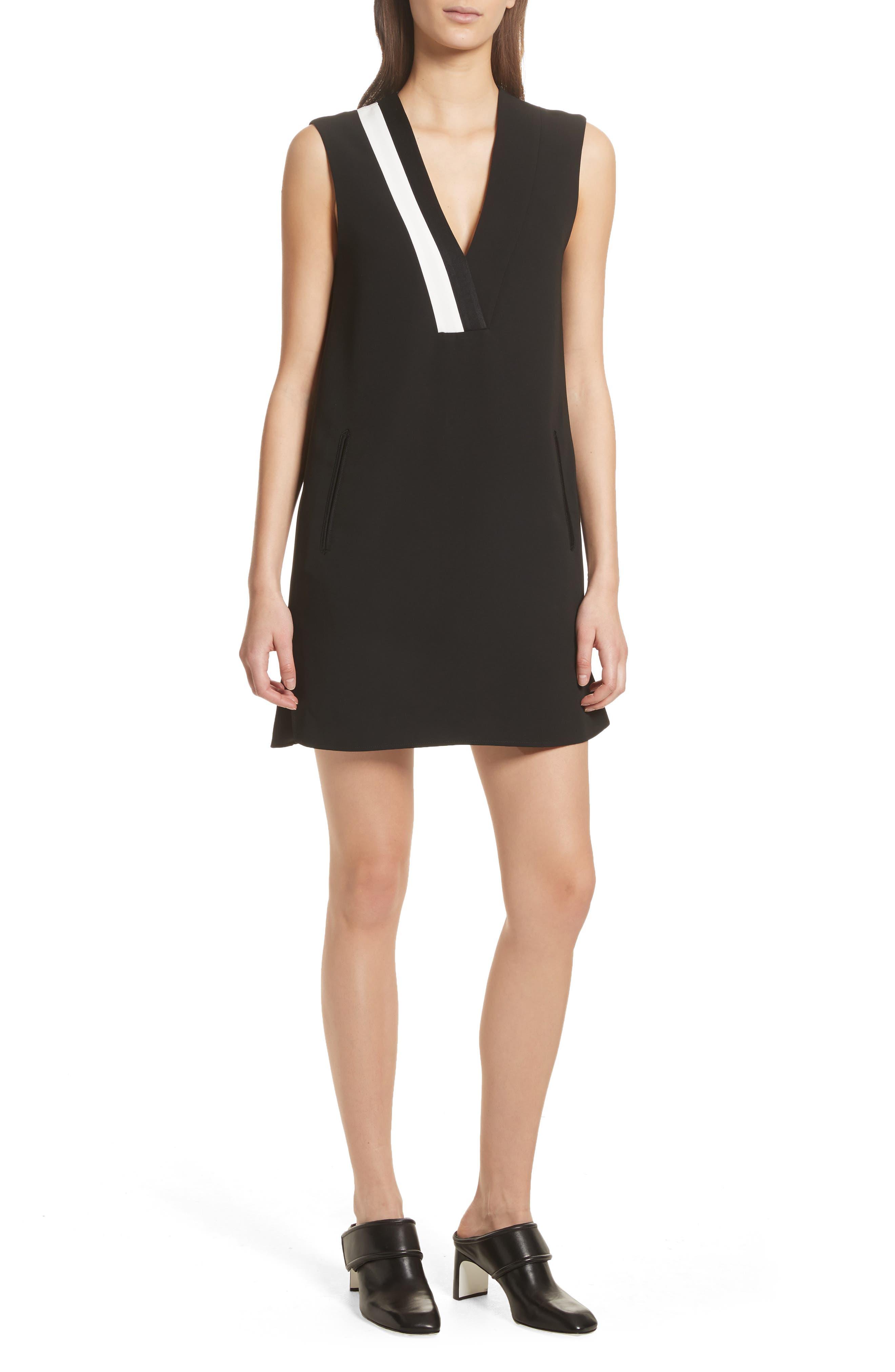 Lodwick Dress,                             Main thumbnail 1, color,                             Black