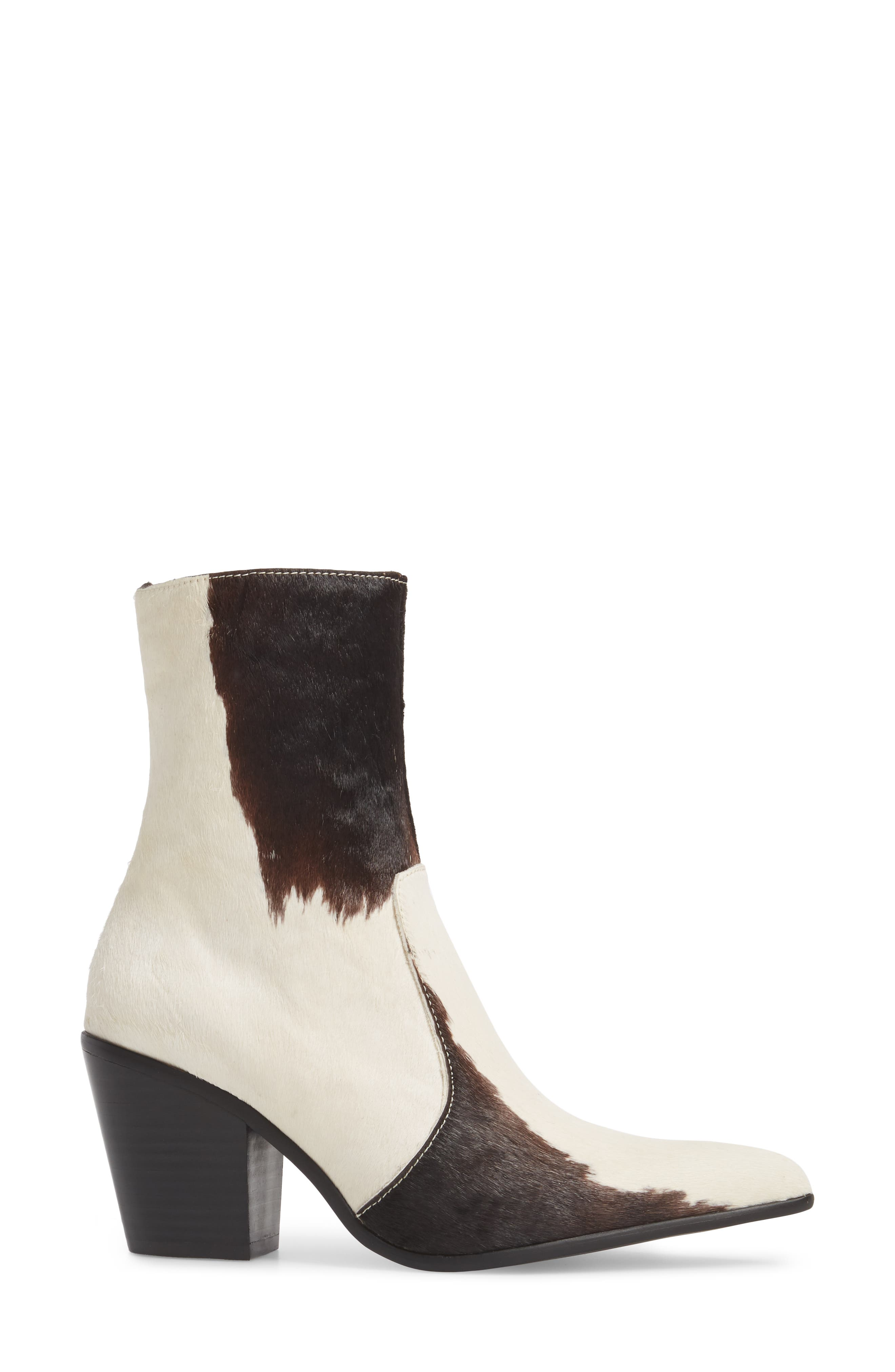 Alternate Image 3  - Jeffrey Campbell Ace-F Genuine Calf Hair Bootie (Women)