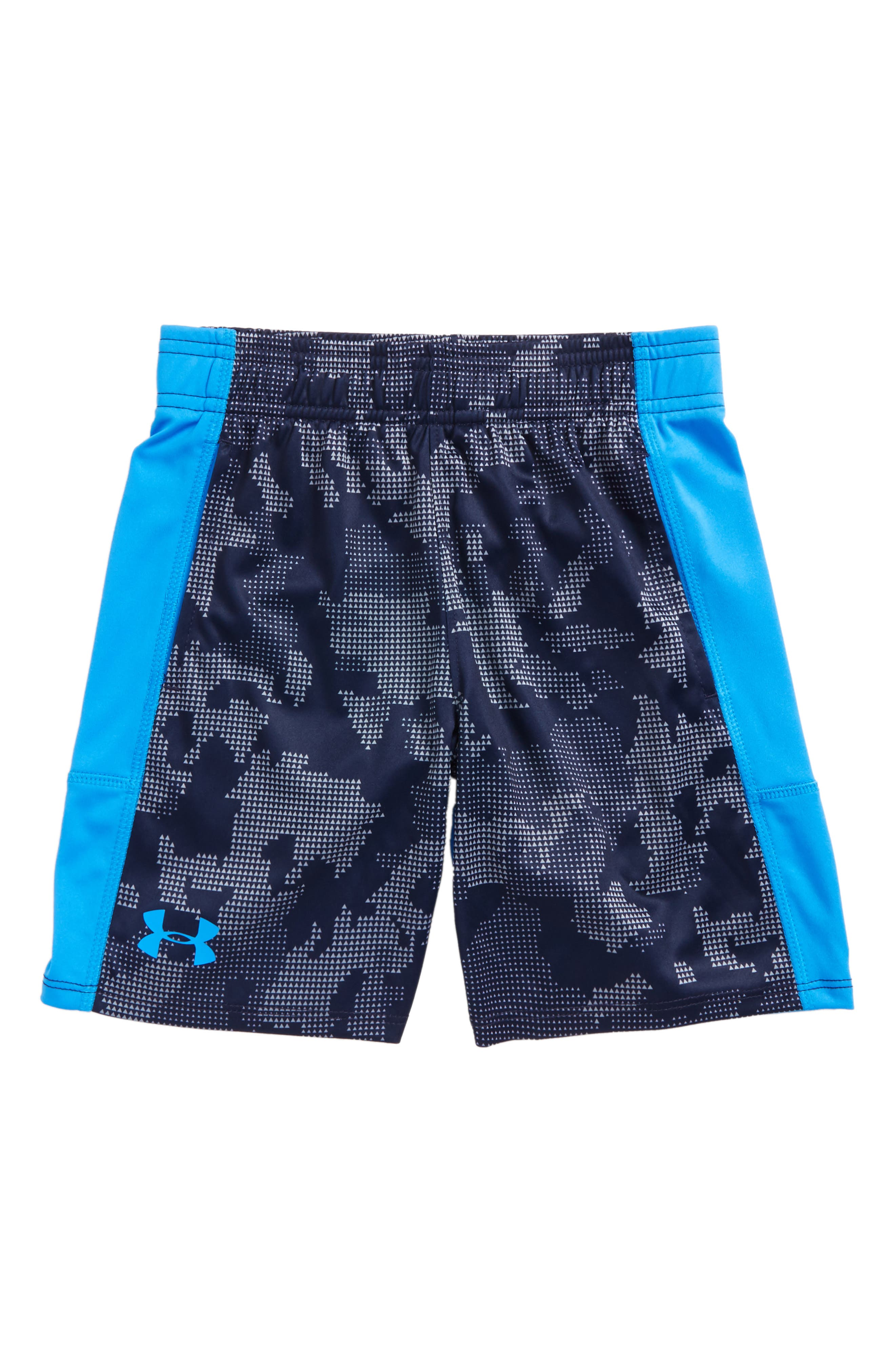 Alternate Image 1 Selected - Under Armour Stunt HeatGear® Shorts (Toddler Boys & LIttle Boys)
