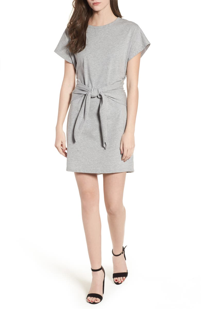 Tie Waist T-Shirt Dress