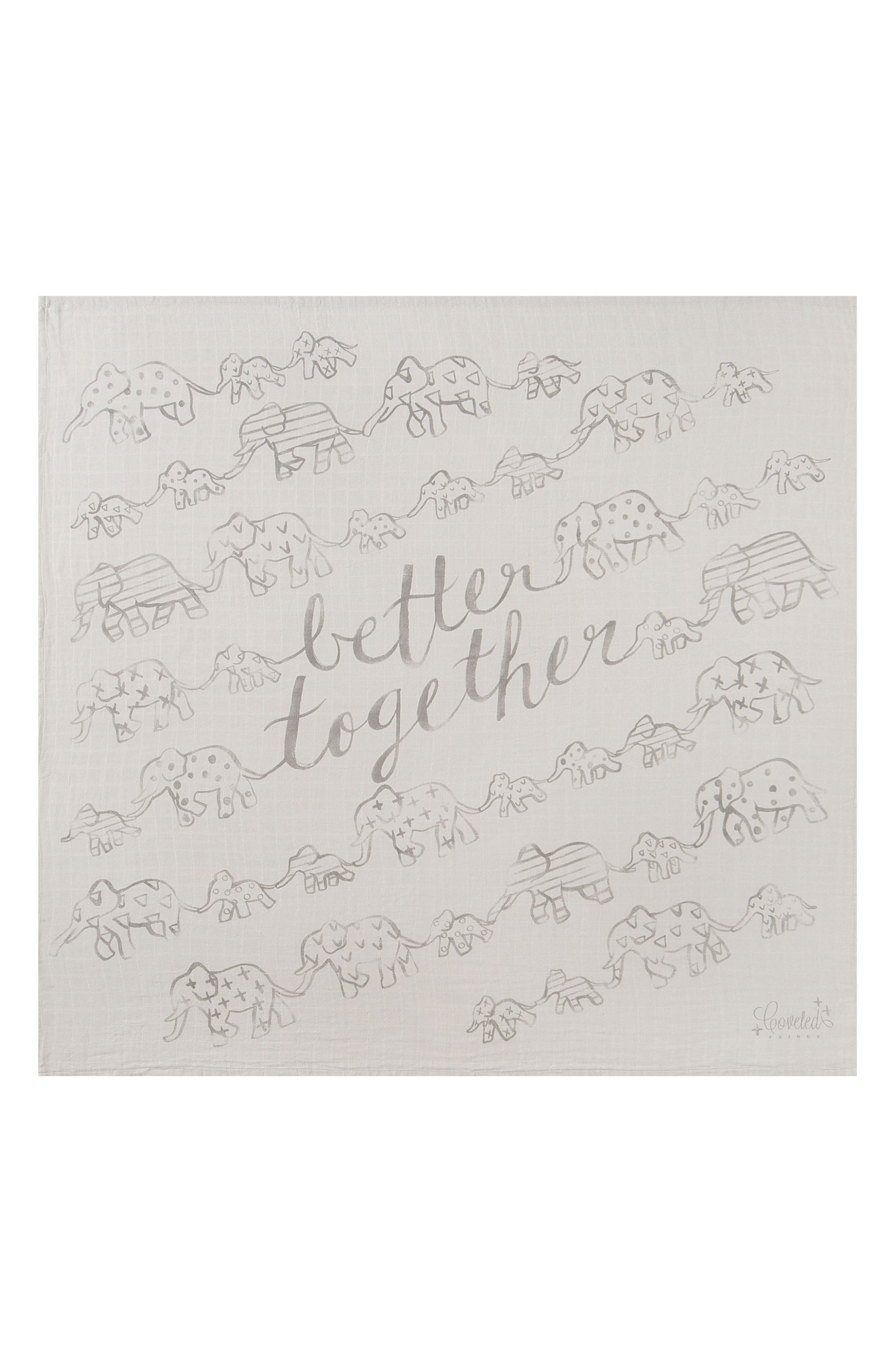 Coveted Things Better Together Organic Cotton Swaddle Scarf