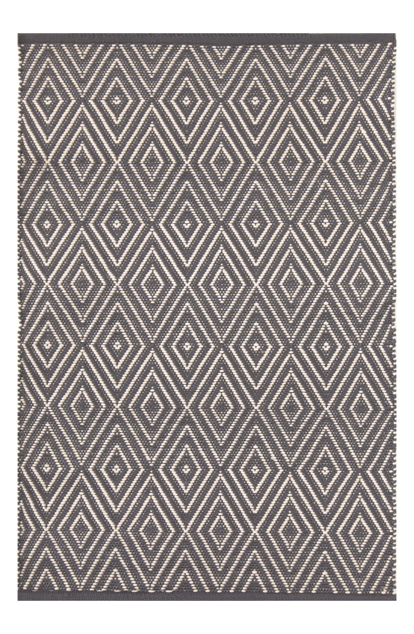 Alternate Image 1 Selected - Dash & Albert Diamond Print Rug