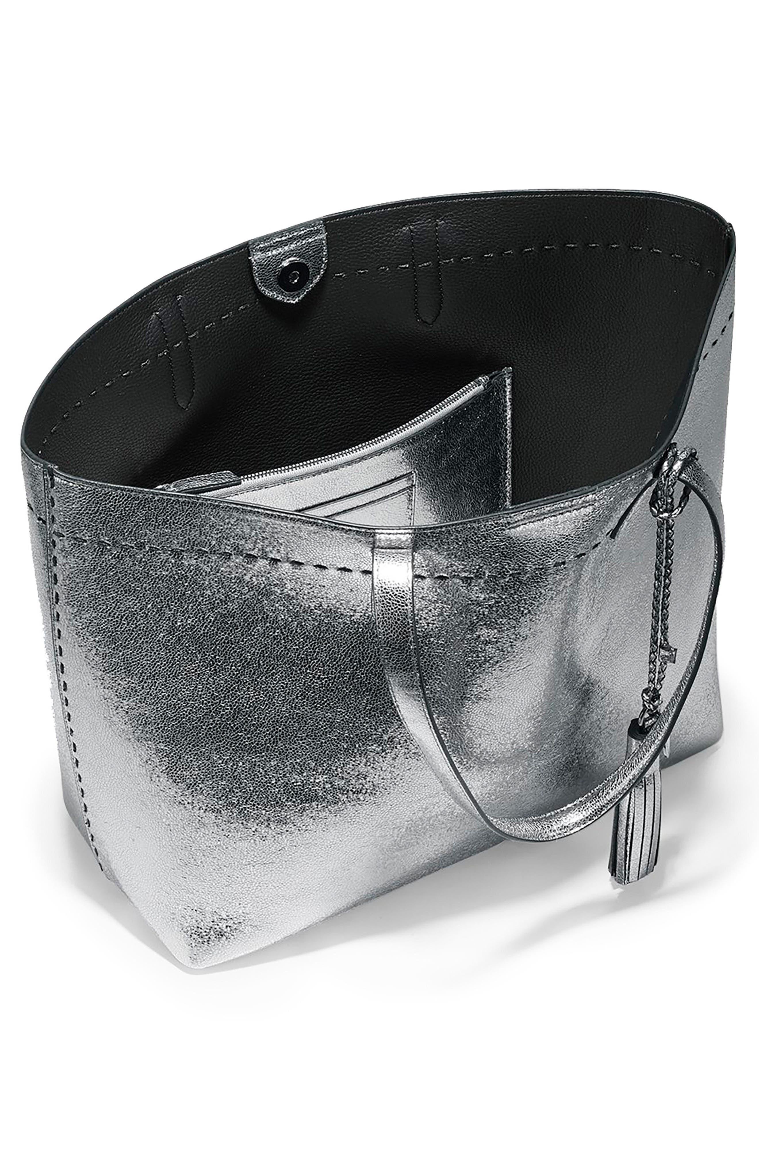 Alternate Image 3  - Cole Haan Payson Metallic Leather Tote