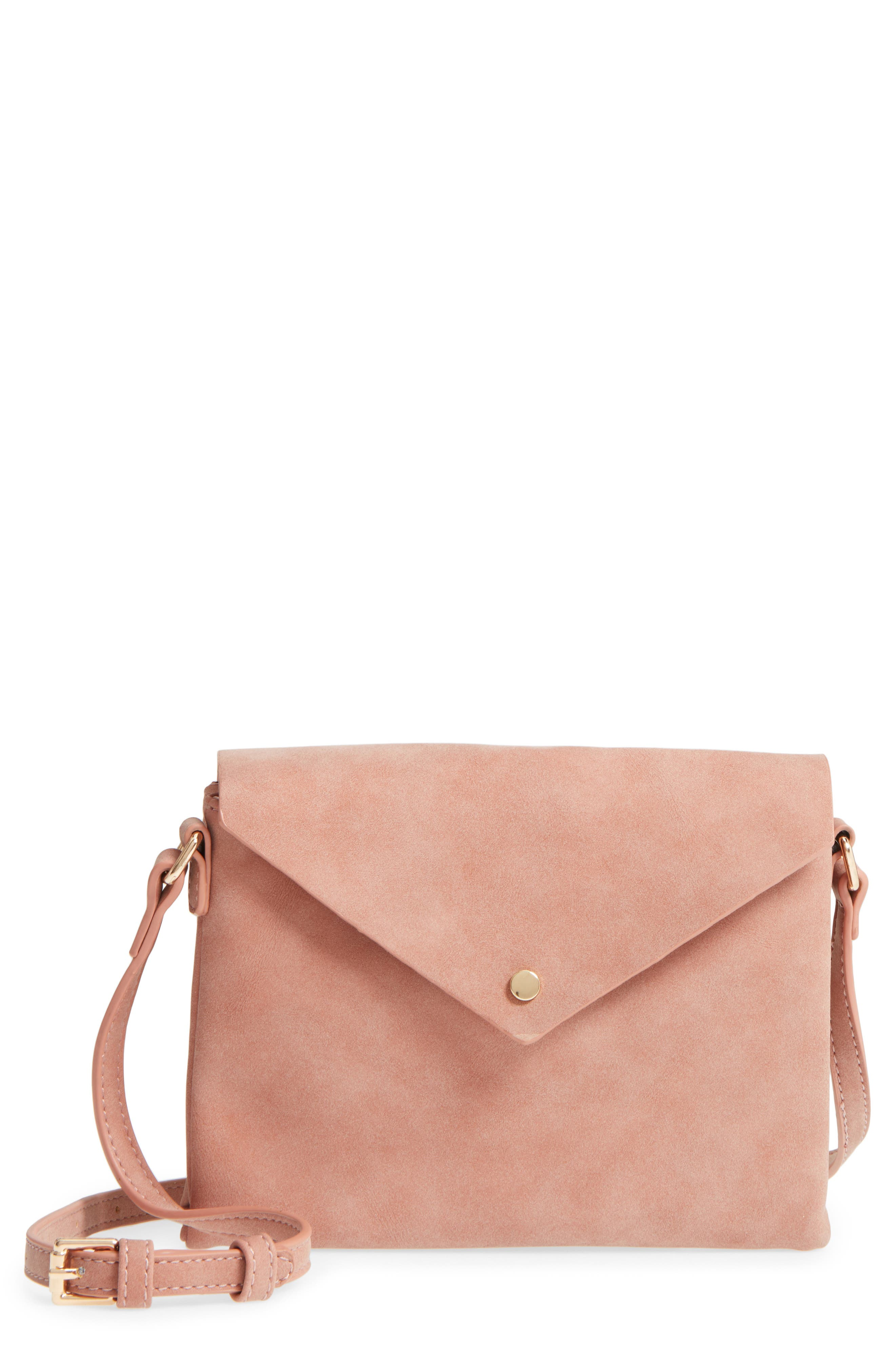Main Image - Street Level Envelope Crossbody Bag