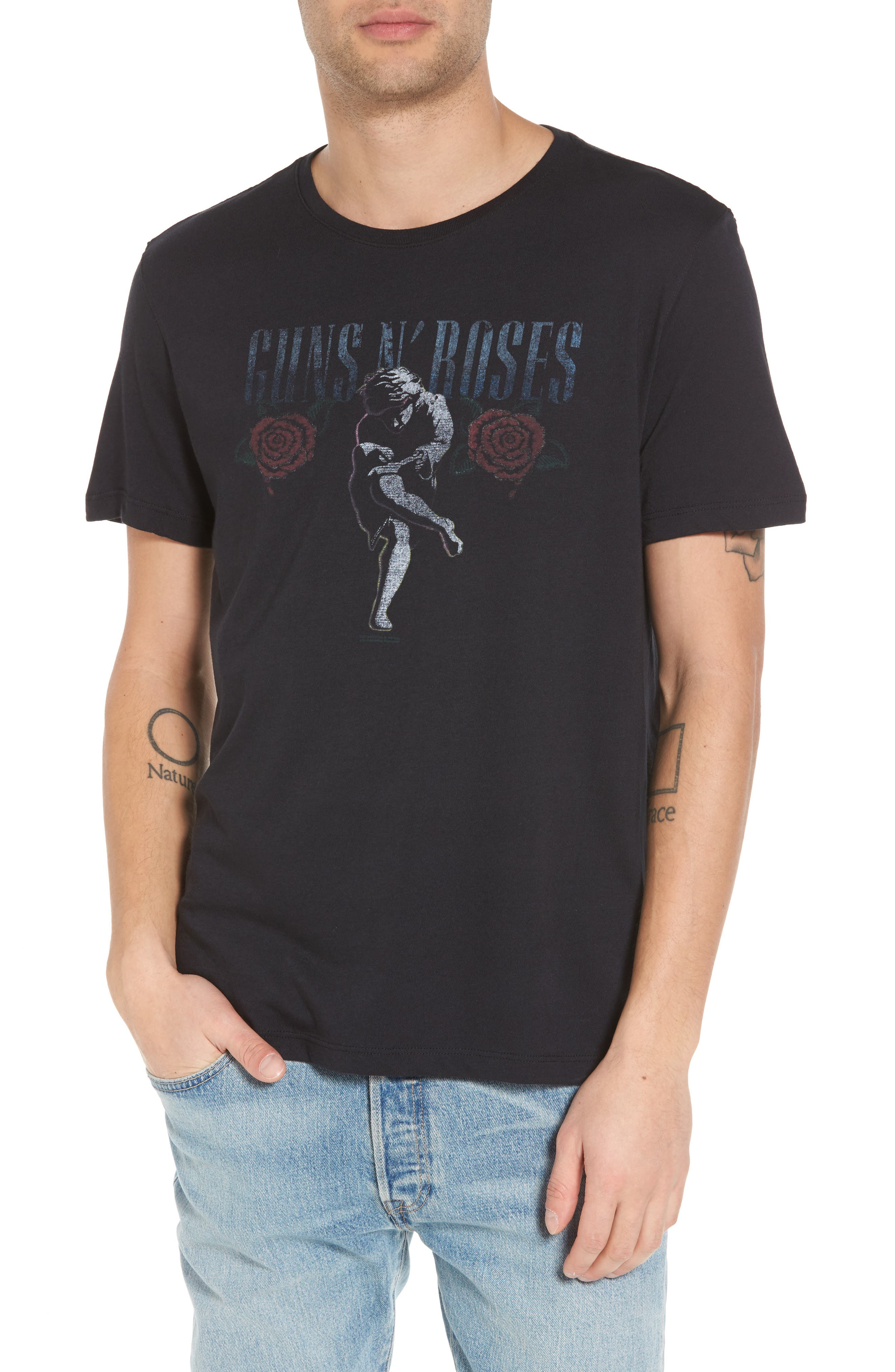 Main Image - John Varvatos Star USA Guns N Roses Graphic T-Shirt