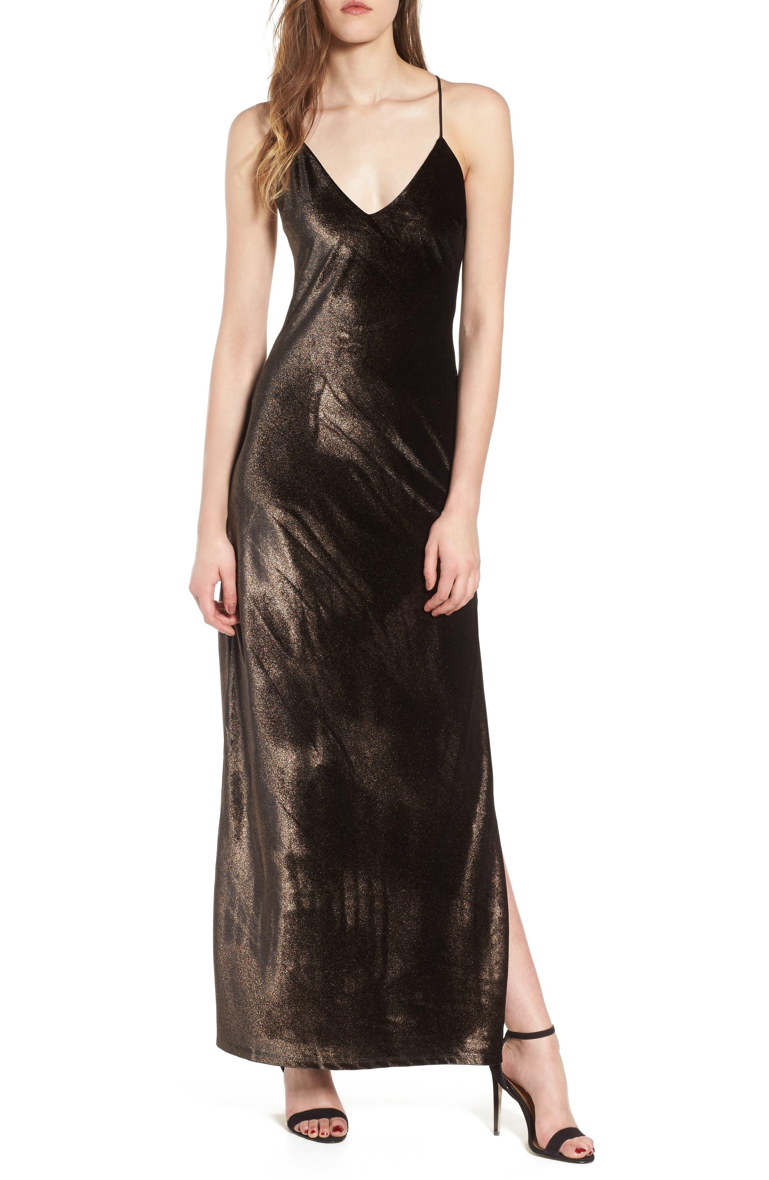 Main Image - NBD In the Deep Maxi Dress