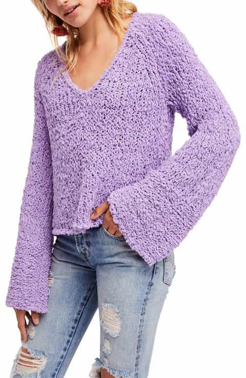 Women's Purple Long Sleeve Sweaters | Nordstrom
