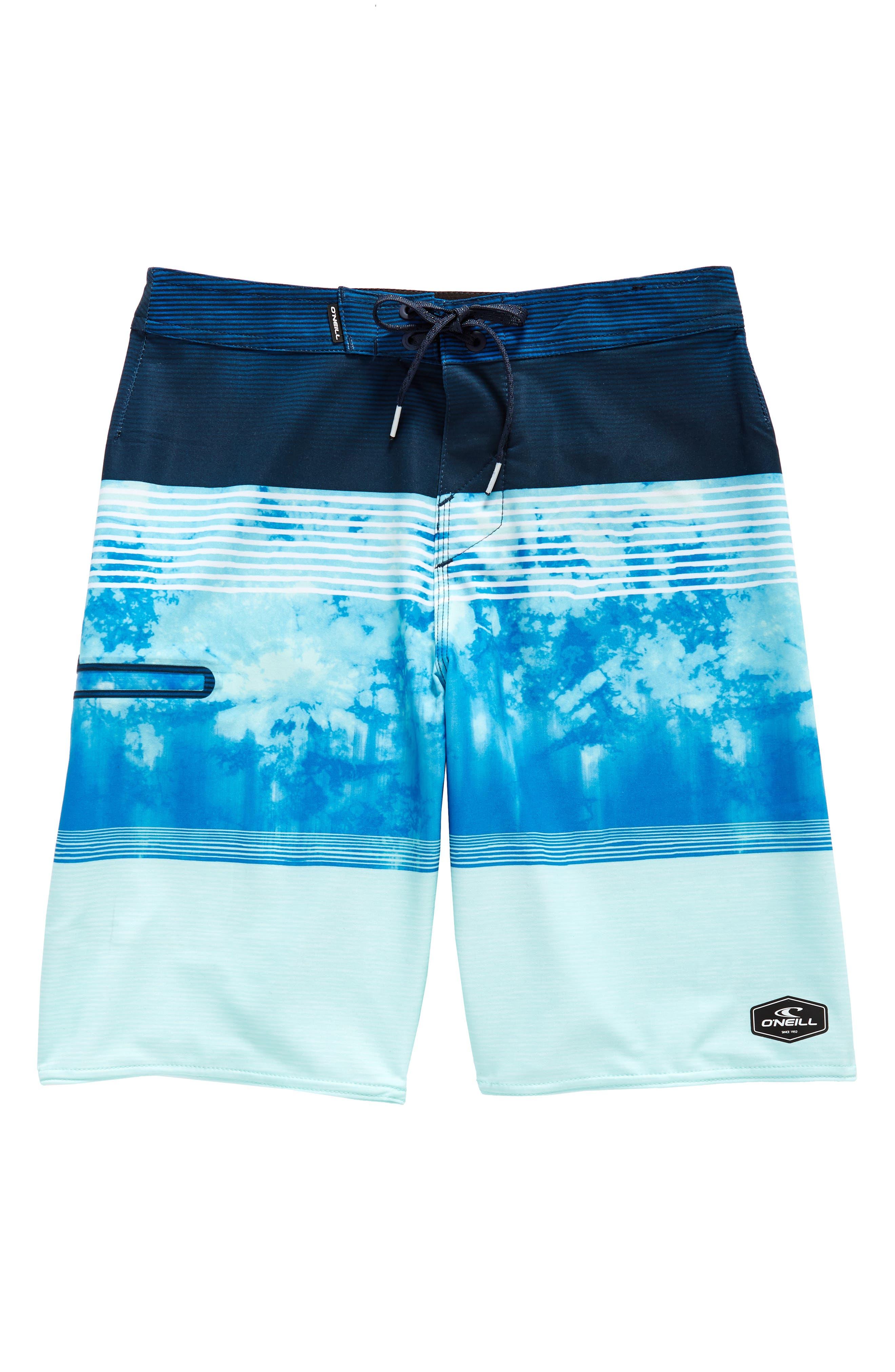 Hyperfreak Board Shorts,                             Main thumbnail 1, color,                             Blue