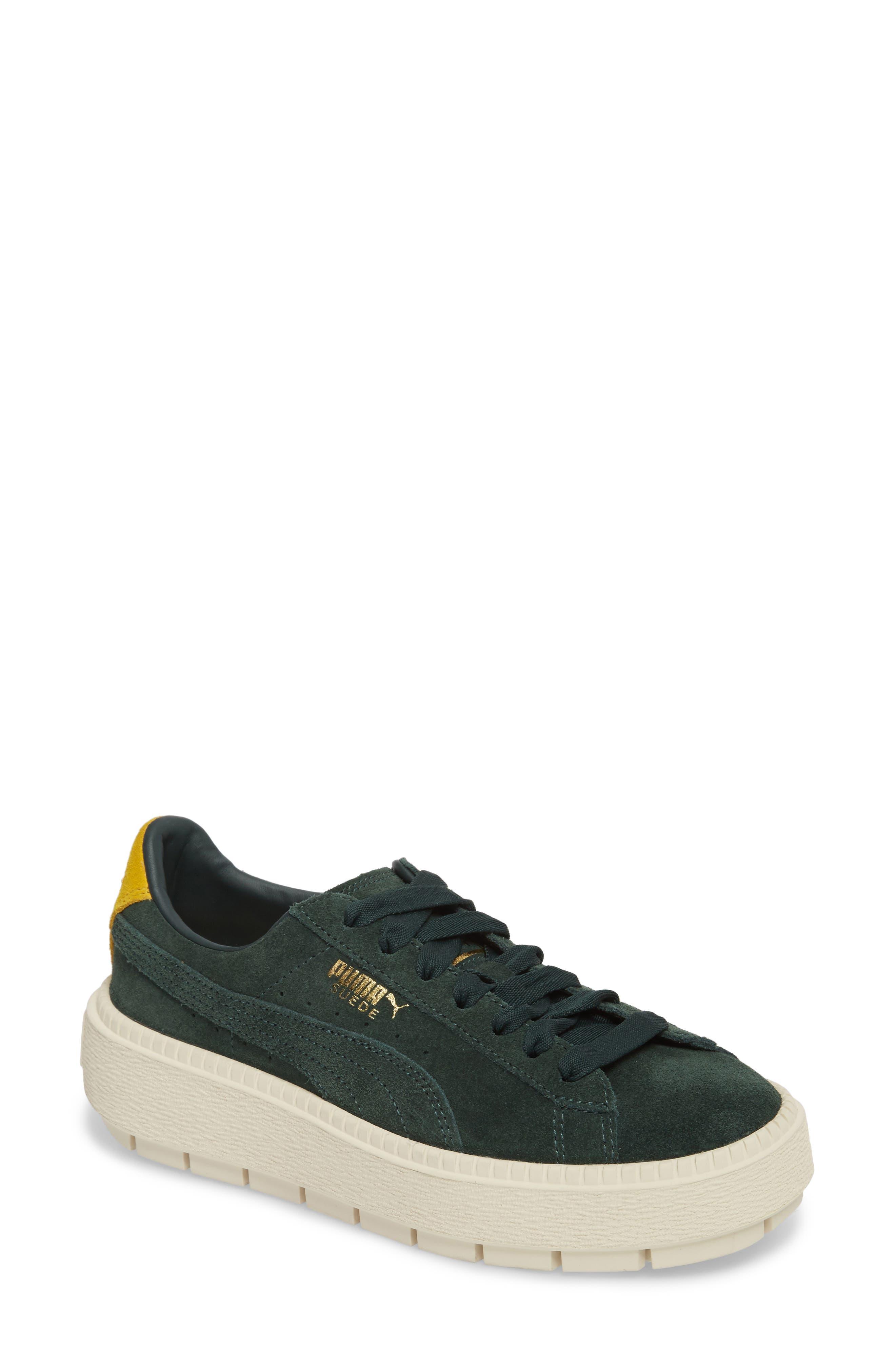 Platform Trace Bold Sneaker,                         Main,                         color, Scrab-Lemon -Vanilla Ice