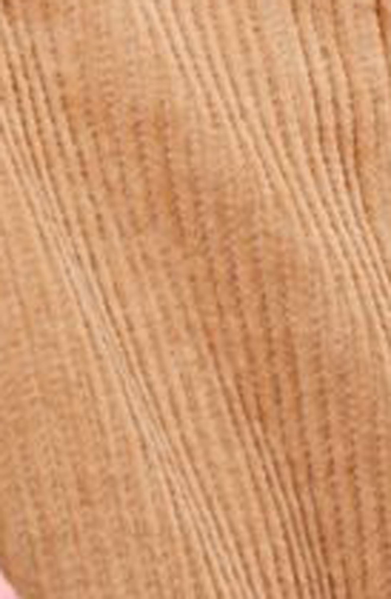 Button Front Corduroy Pinafore Dress,                             Alternate thumbnail 3, color,                             Stone