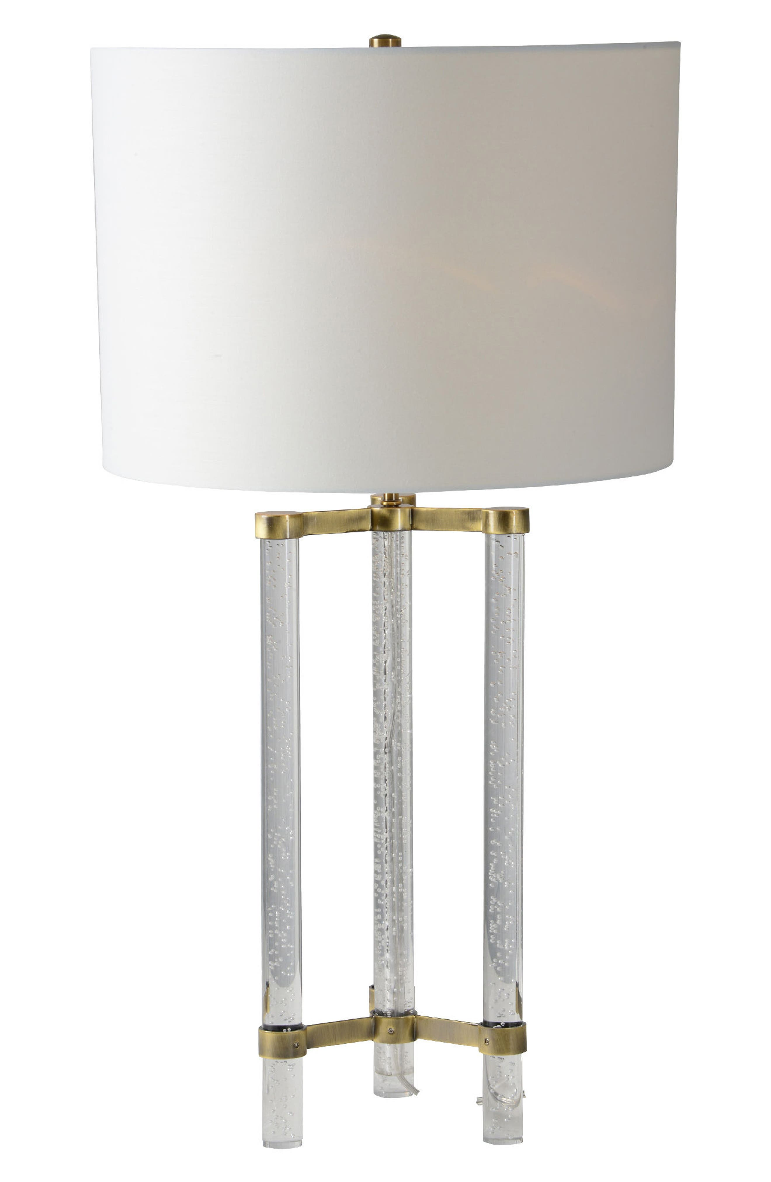 Dais Table Lamp,                             Main thumbnail 1, color,                             Antique Gold Plated