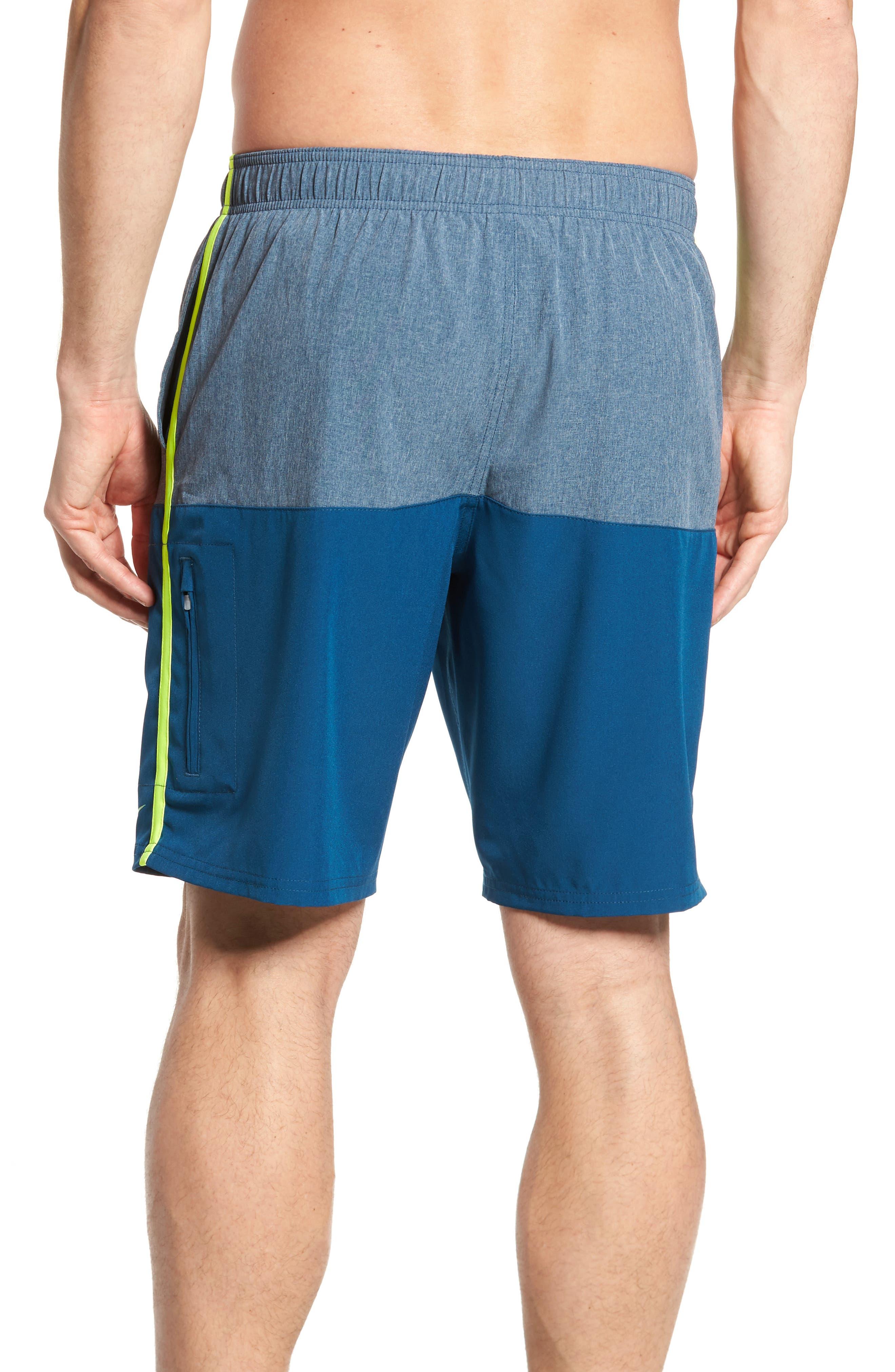Split Board Shorts,                             Alternate thumbnail 2, color,                             Blue Force