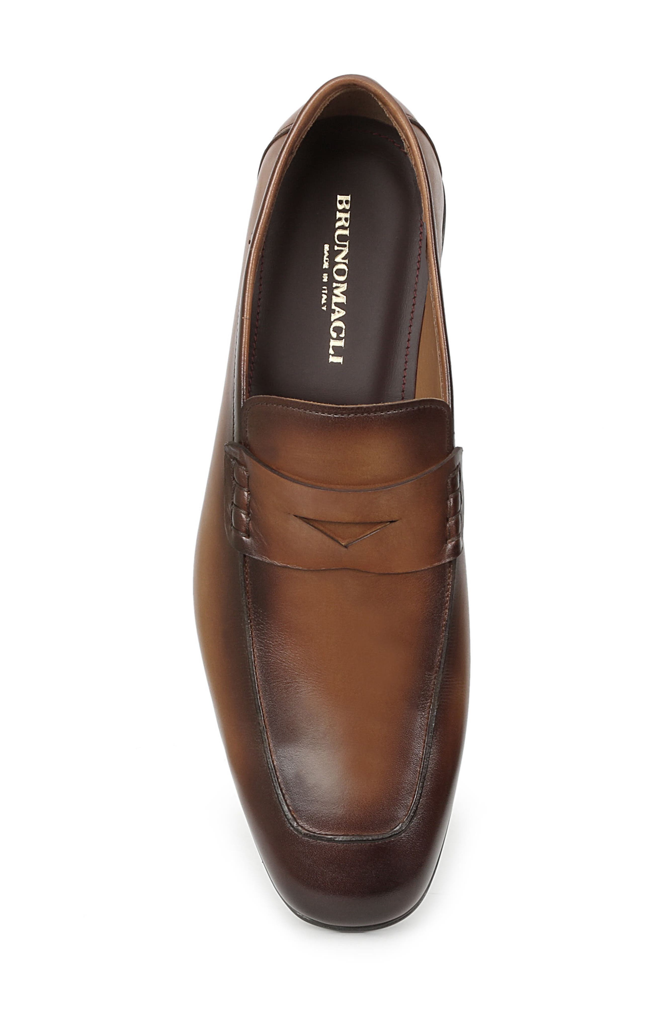 Margot Penny Loafer,                             Alternate thumbnail 5, color,                             Cognac