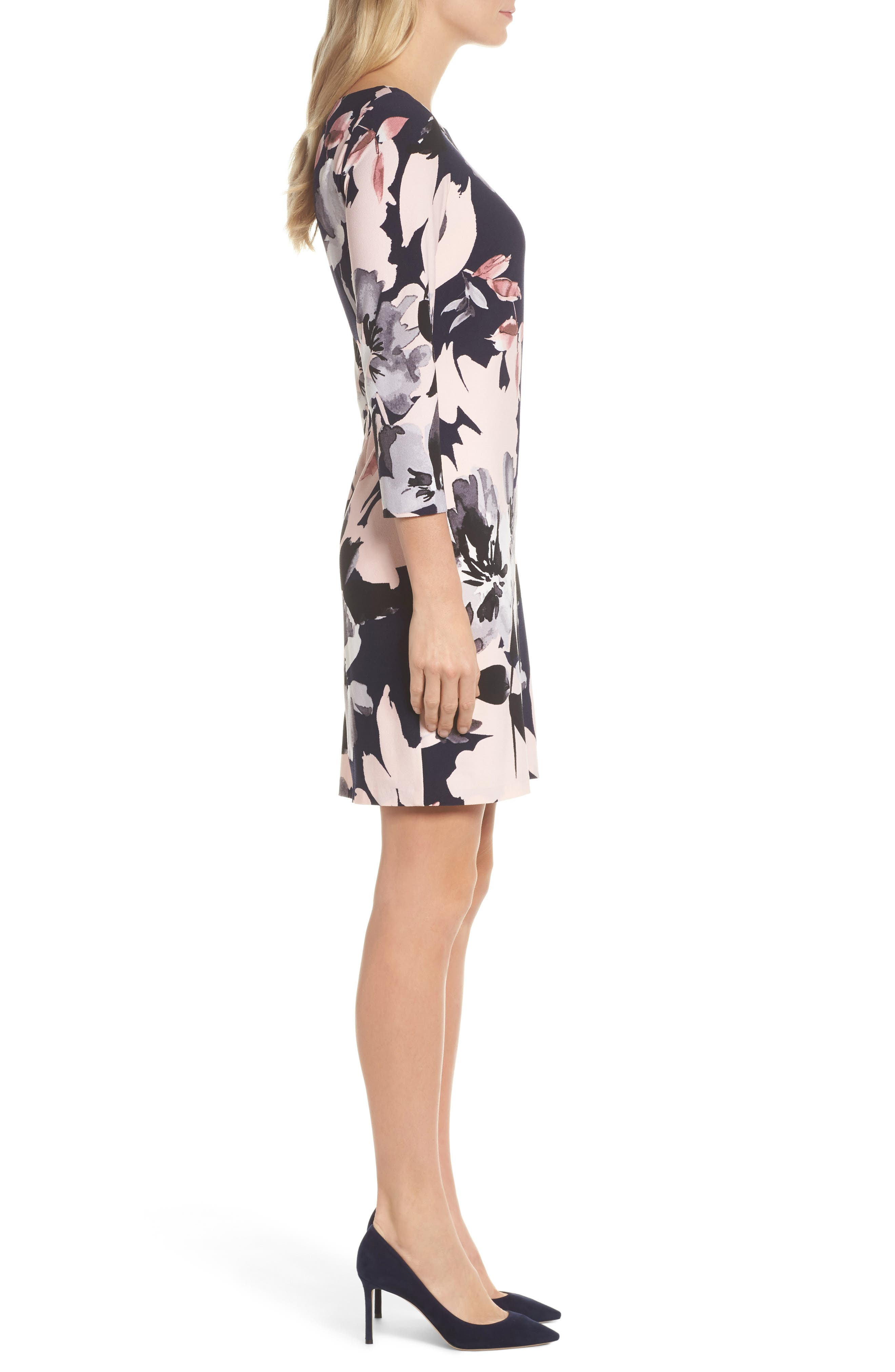 Alternate Image 3  - Vince Camuto Crepe Shift Dress