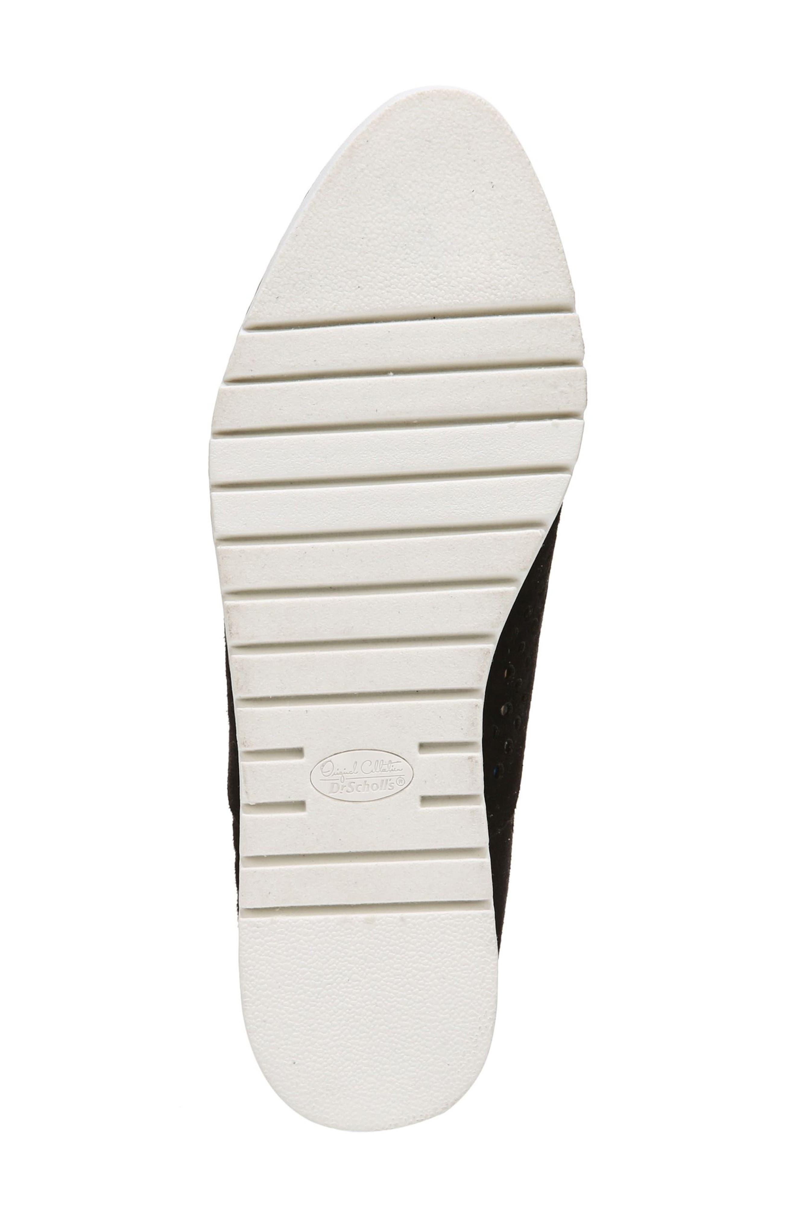 Improve Slip-On Sneaker,                             Alternate thumbnail 7, color,                             Black Fabric
