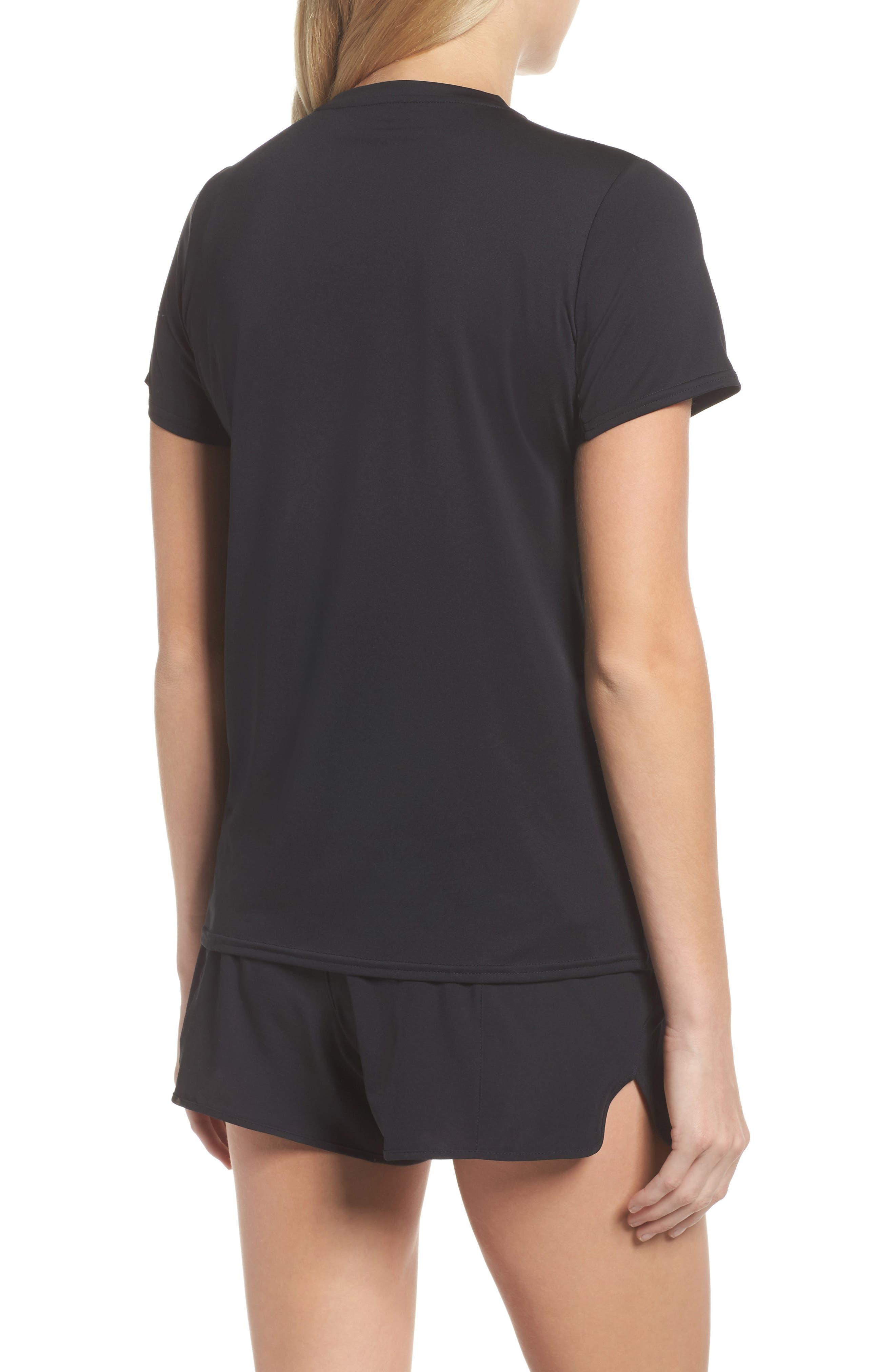 Capilene<sup>®</sup> Dailty T-Shirt,                             Alternate thumbnail 2, color,                             Black