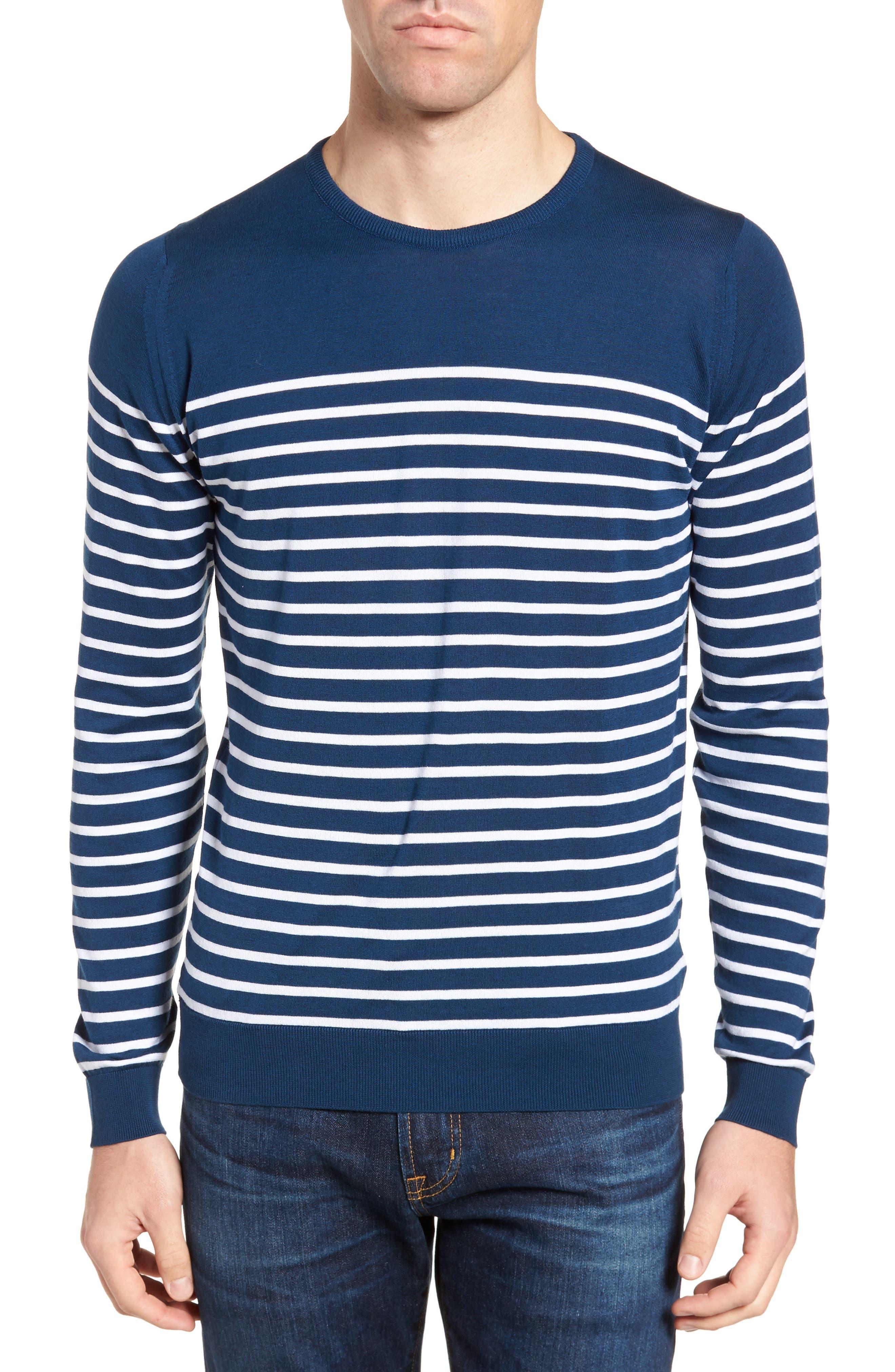 John Smedley Stripe Sweater
