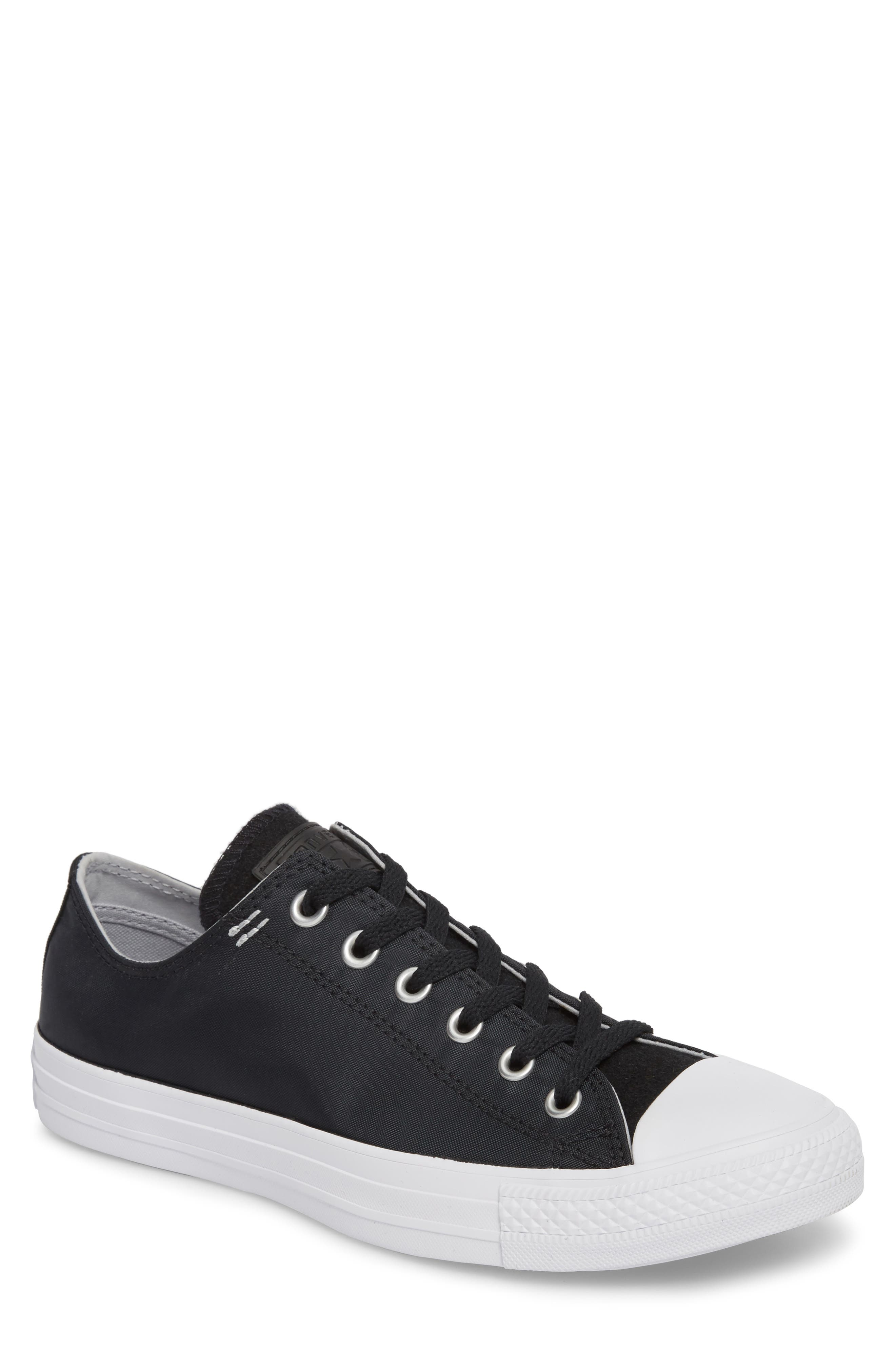 All Star<sup>®</sup> OX Low Top Sneaker,                         Main,                         color, Black