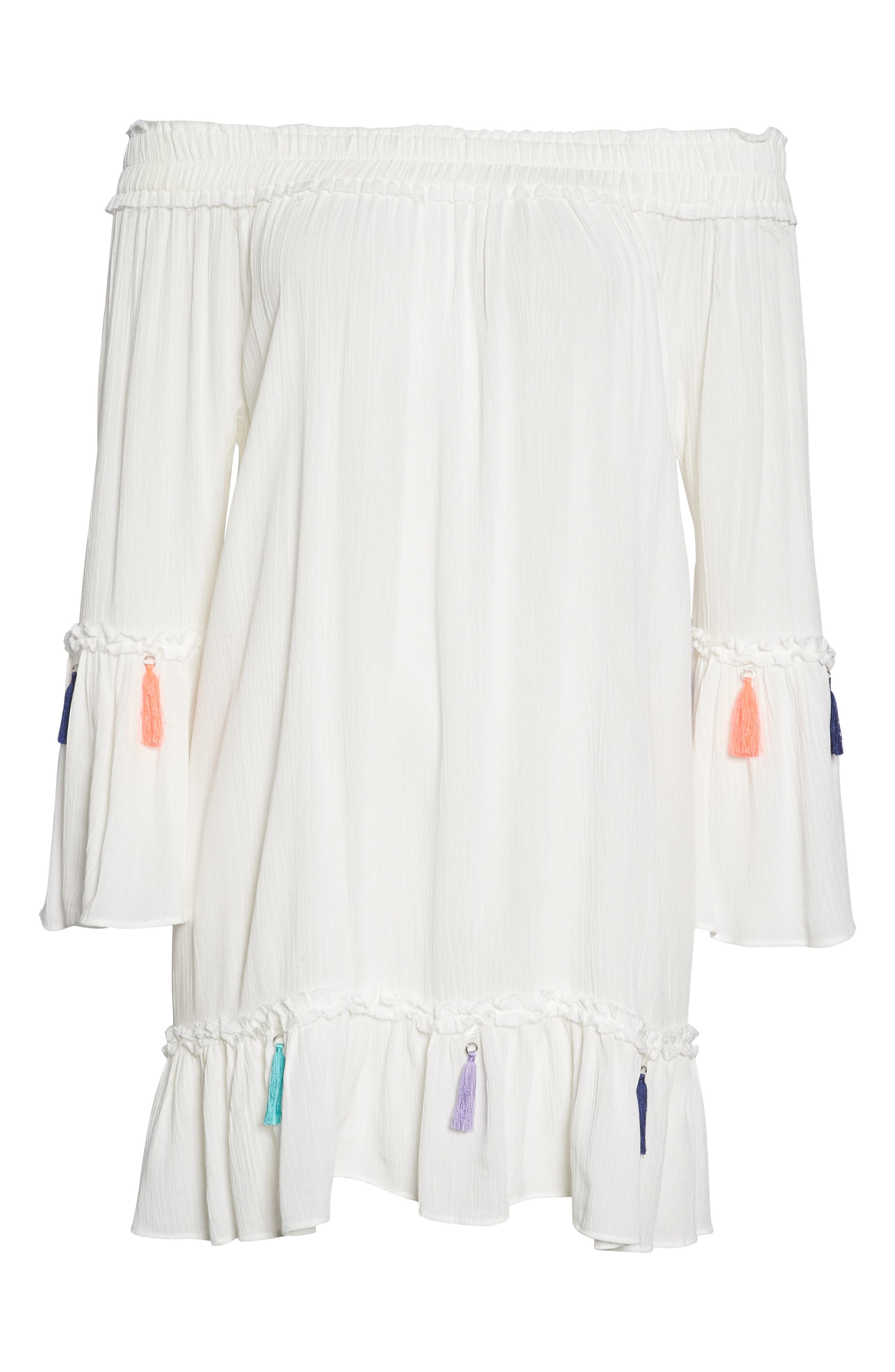 Alternate Image 6  - Surf Gypsy Tassel Cover-Up