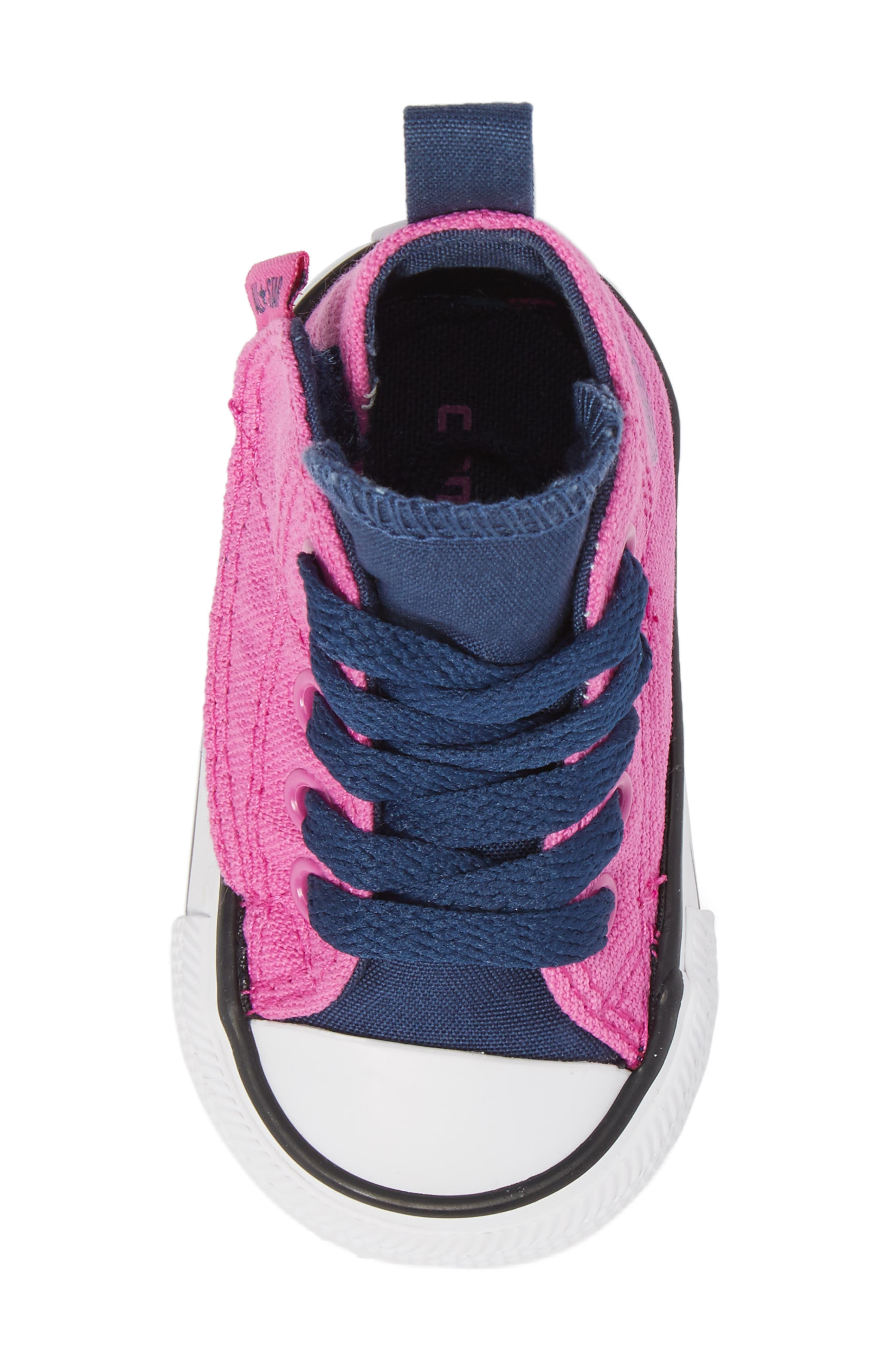 Alternate Image 5  - Converse Chuck Taylor® All Star® 'Simple Step' High Top Sneaker (Baby, Walker & Toddler)