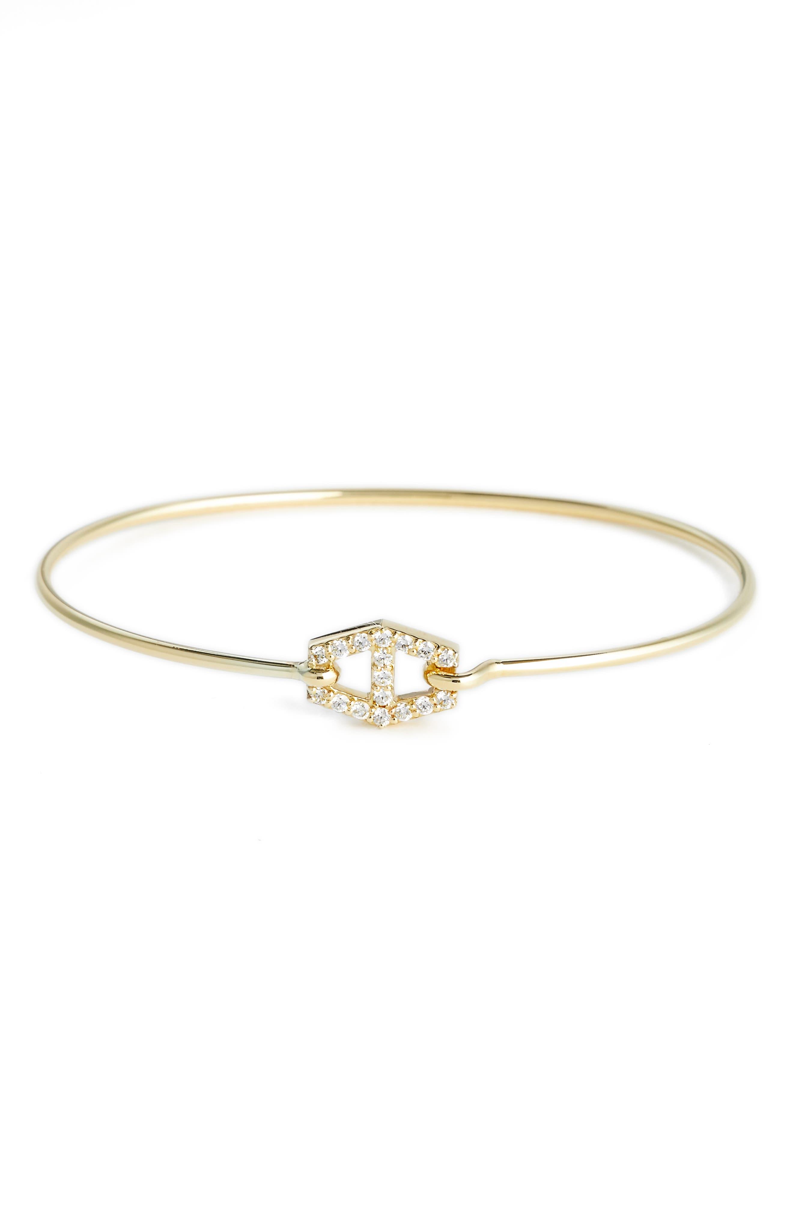 Jemma Wynne Prive Diamond Bangle