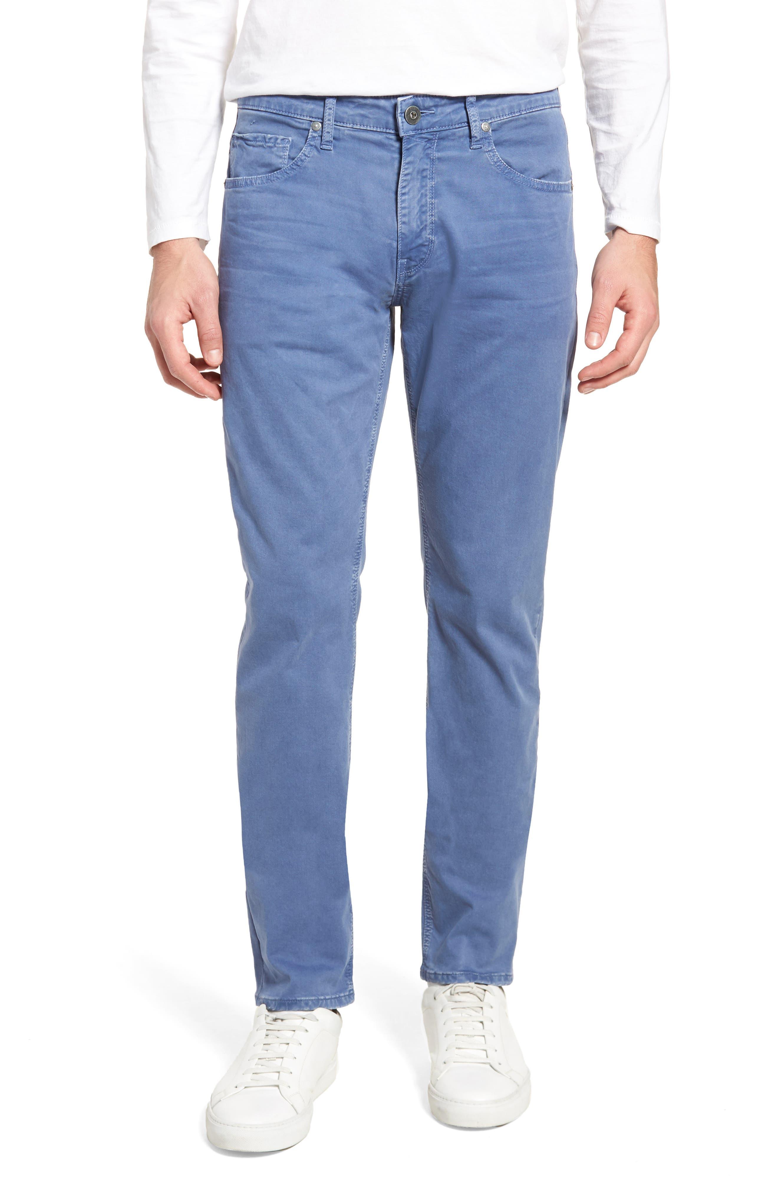 Lennox Slim Fit Five-Pocket Pants,                             Main thumbnail 1, color,                             Vintage Mariner
