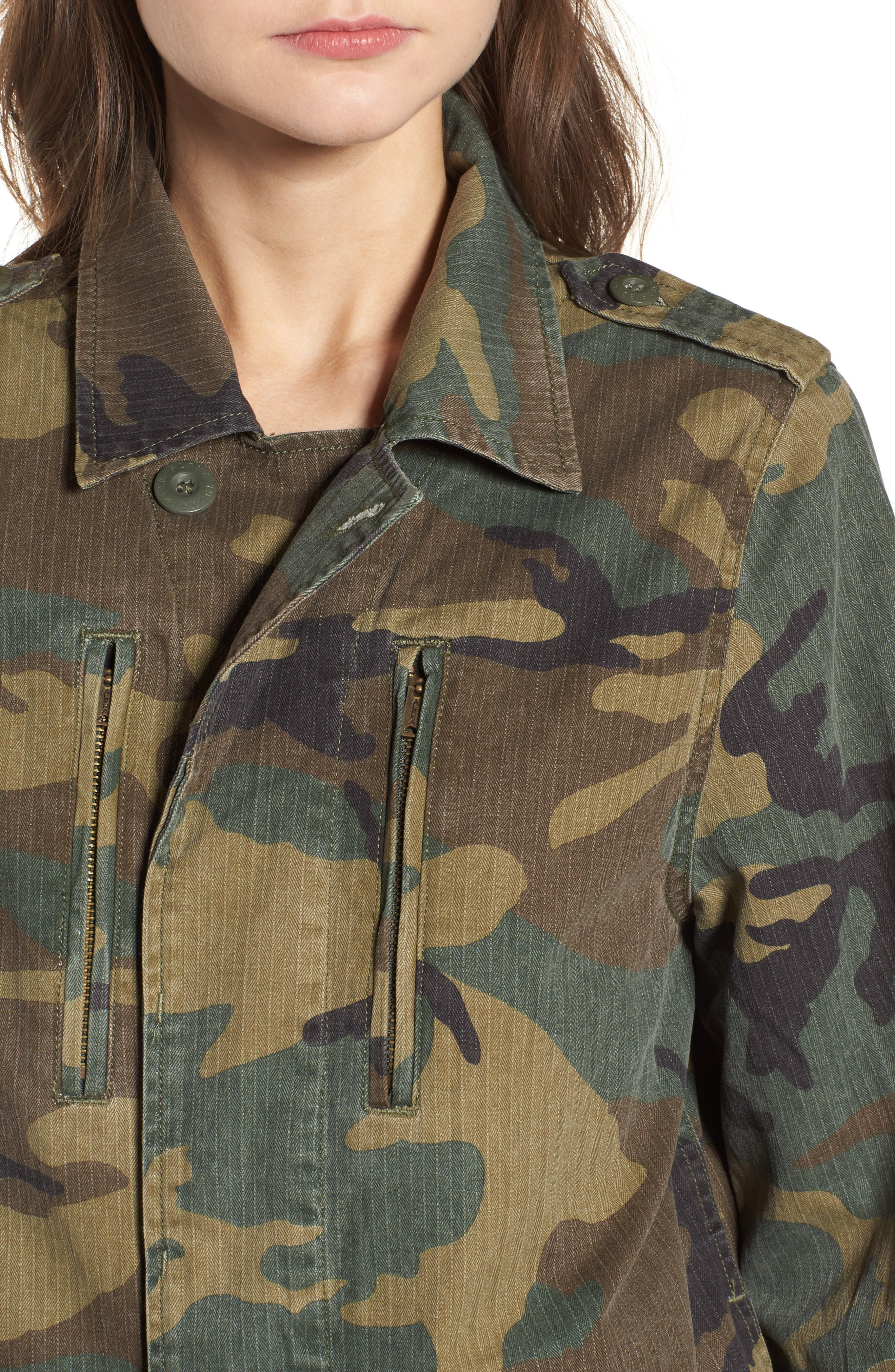 Alternate Image 4  - Alpha Industries F-2 French Field Coat