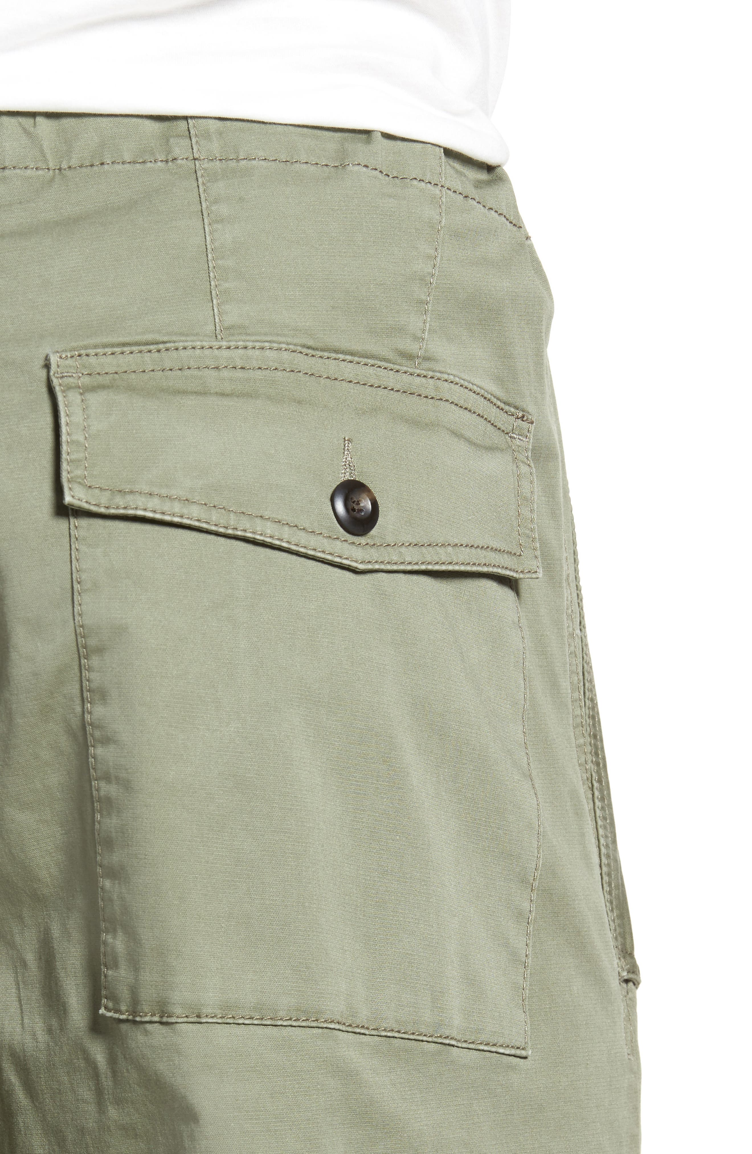 Military Broken Twill Pants,                             Alternate thumbnail 4, color,                             Deep Lichen Green