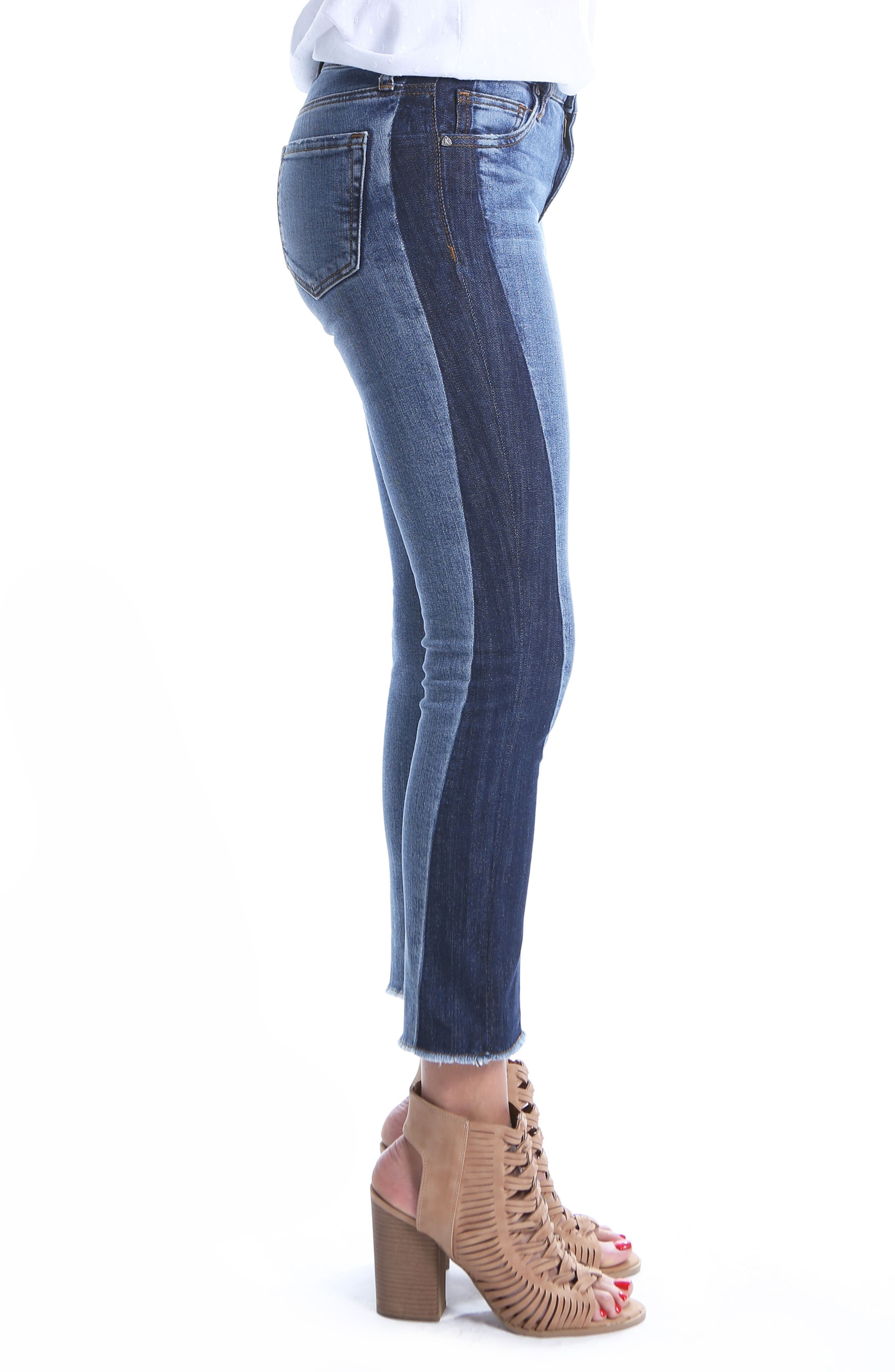 Reese Patch Jeans,                             Alternate thumbnail 4, color,                             Transforming