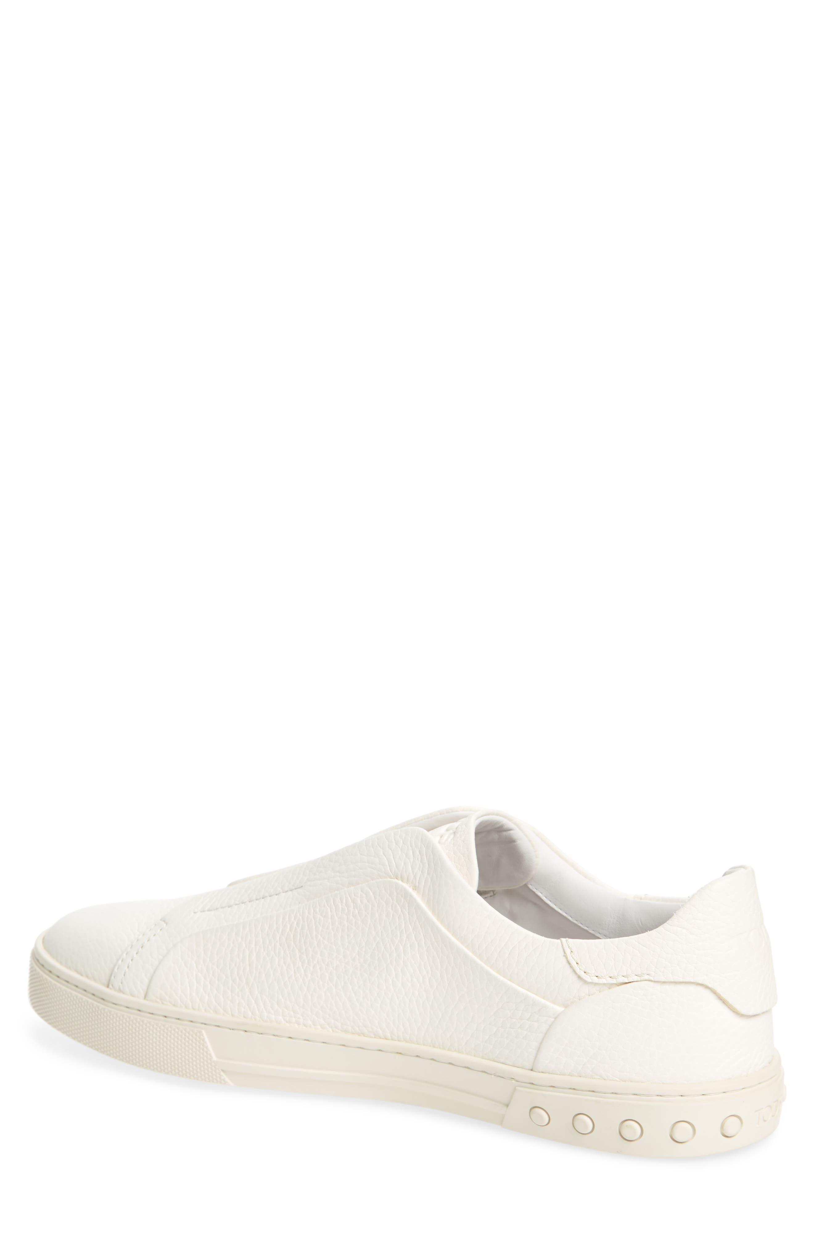 Cassetta Slip-on Sneaker,                             Alternate thumbnail 2, color,                             White