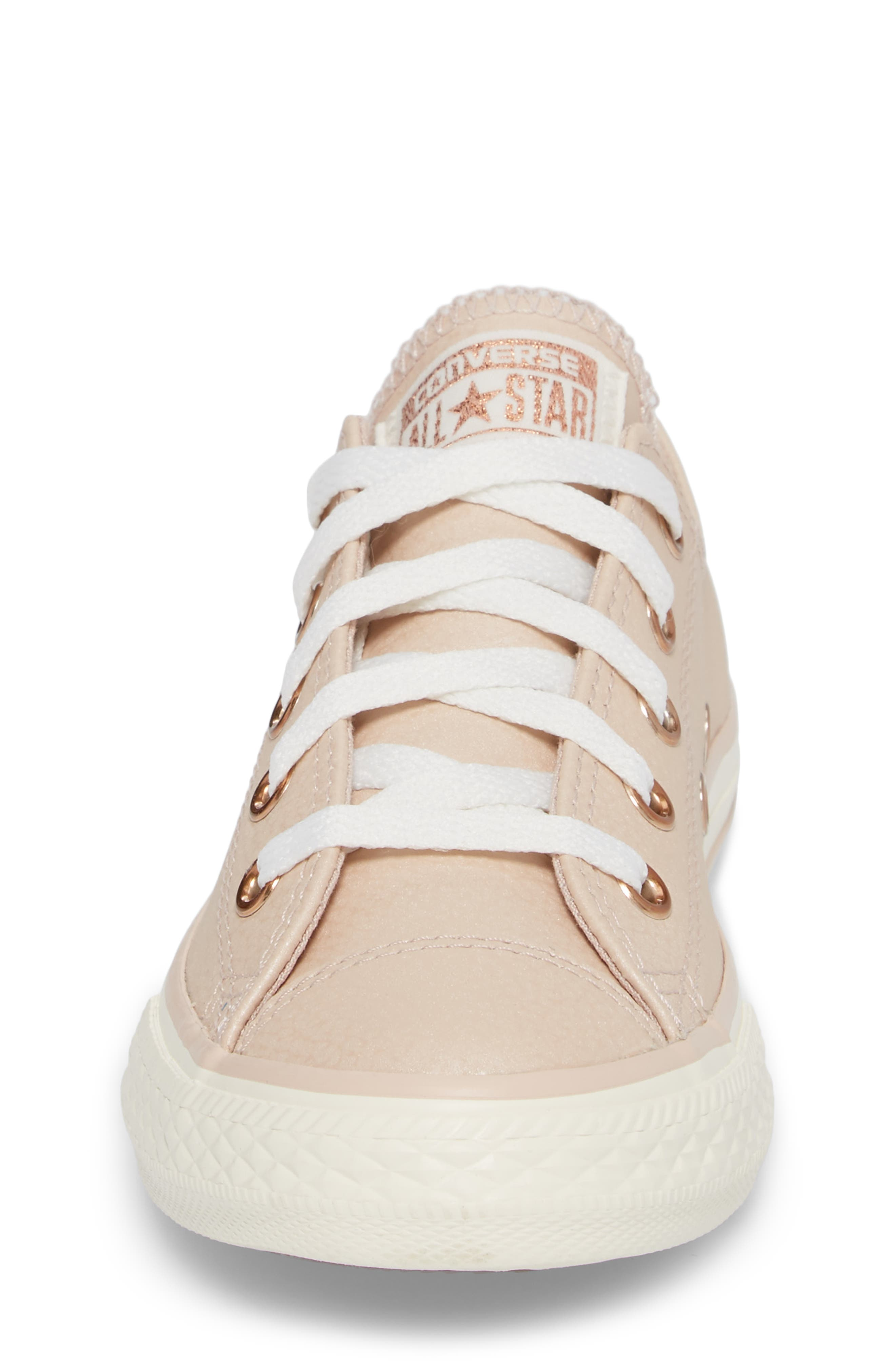 All Star<sup>®</sup> Fashion Low Top Sneaker,                             Alternate thumbnail 4, color,                             Particle Beige