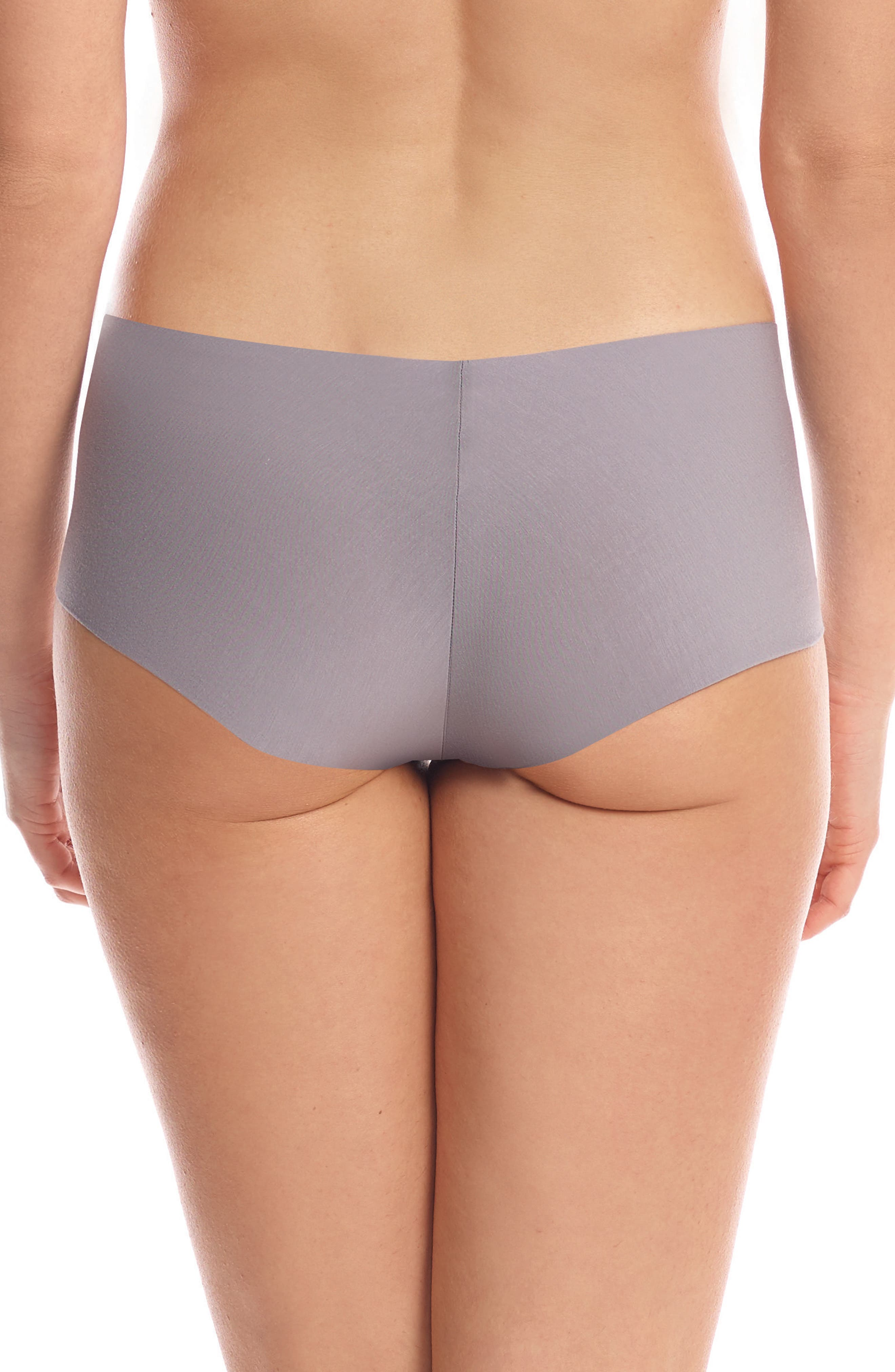 Butter Seamless Hipster Panties,                             Alternate thumbnail 2, color,                             Stone