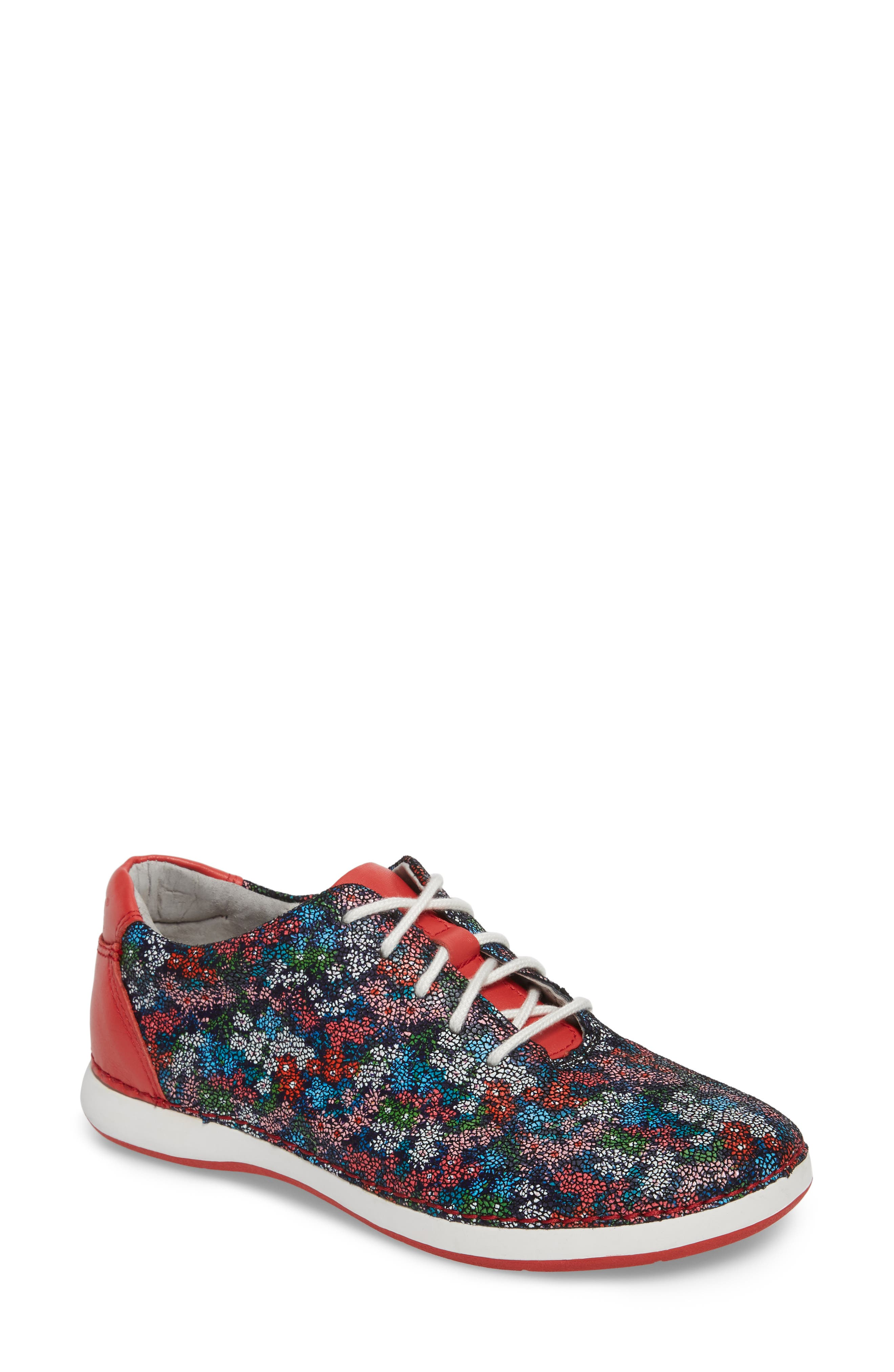 Essence Lace-Up Leather Oxford,                             Main thumbnail 1, color,                             Botanncool Leather