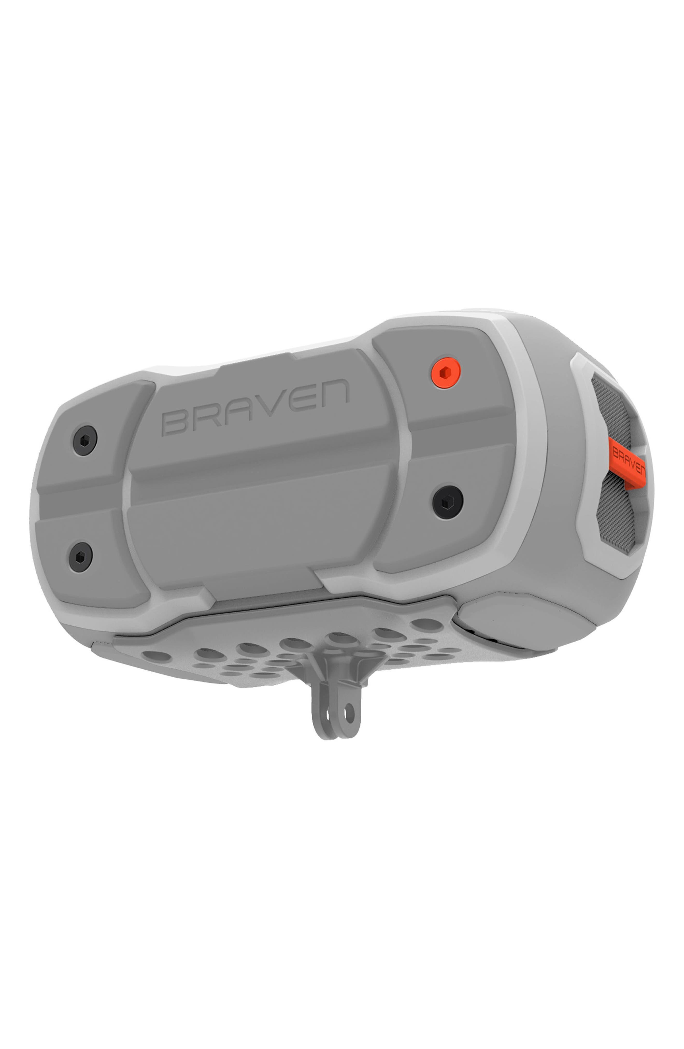 Ready Pro Bluetooth<sup>®</sup> Speaker,                             Alternate thumbnail 5, color,                             Grey/ Orange