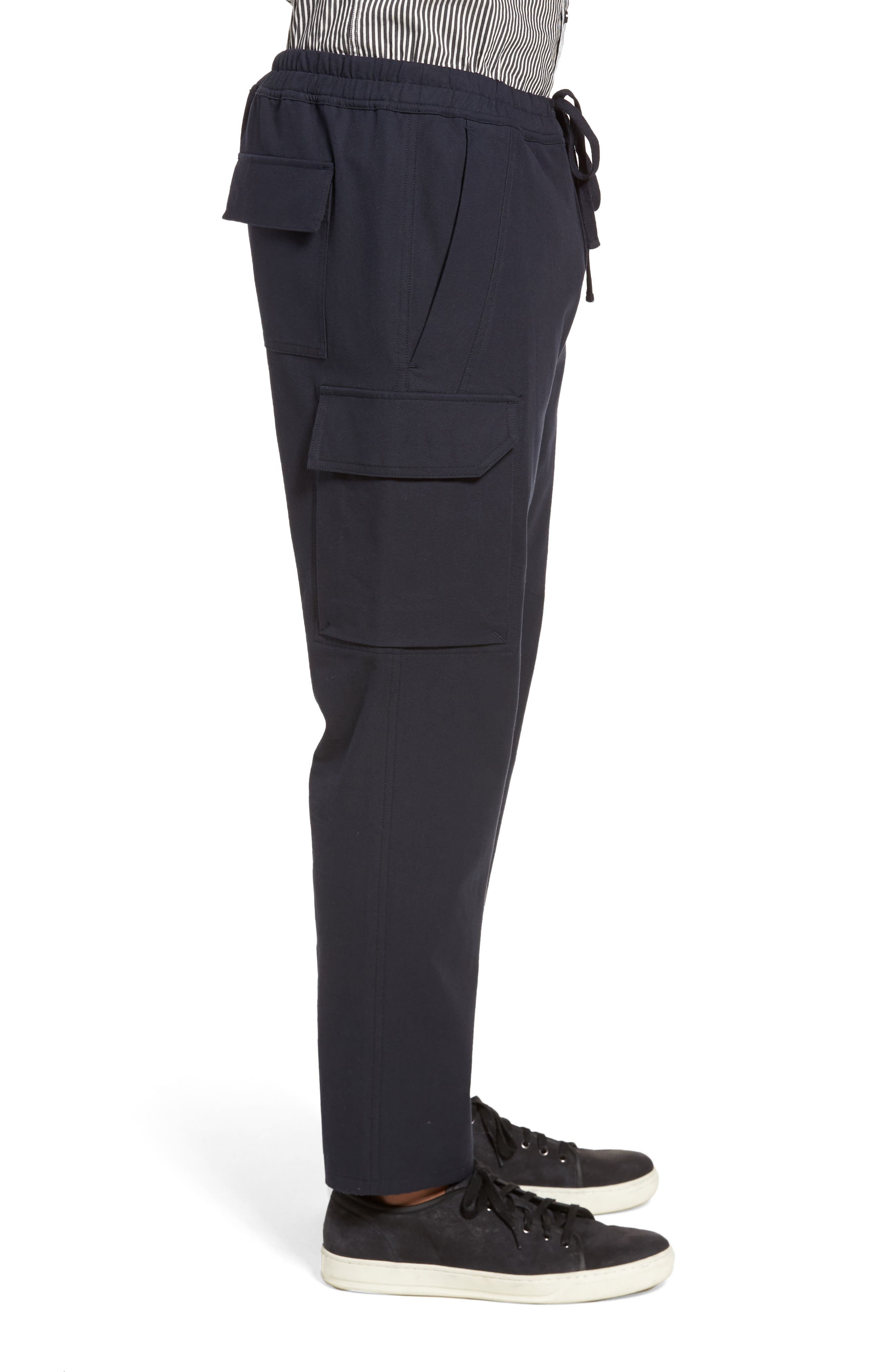 Regular Fit Drawstring Pants,                             Alternate thumbnail 3, color,                             New Coastal