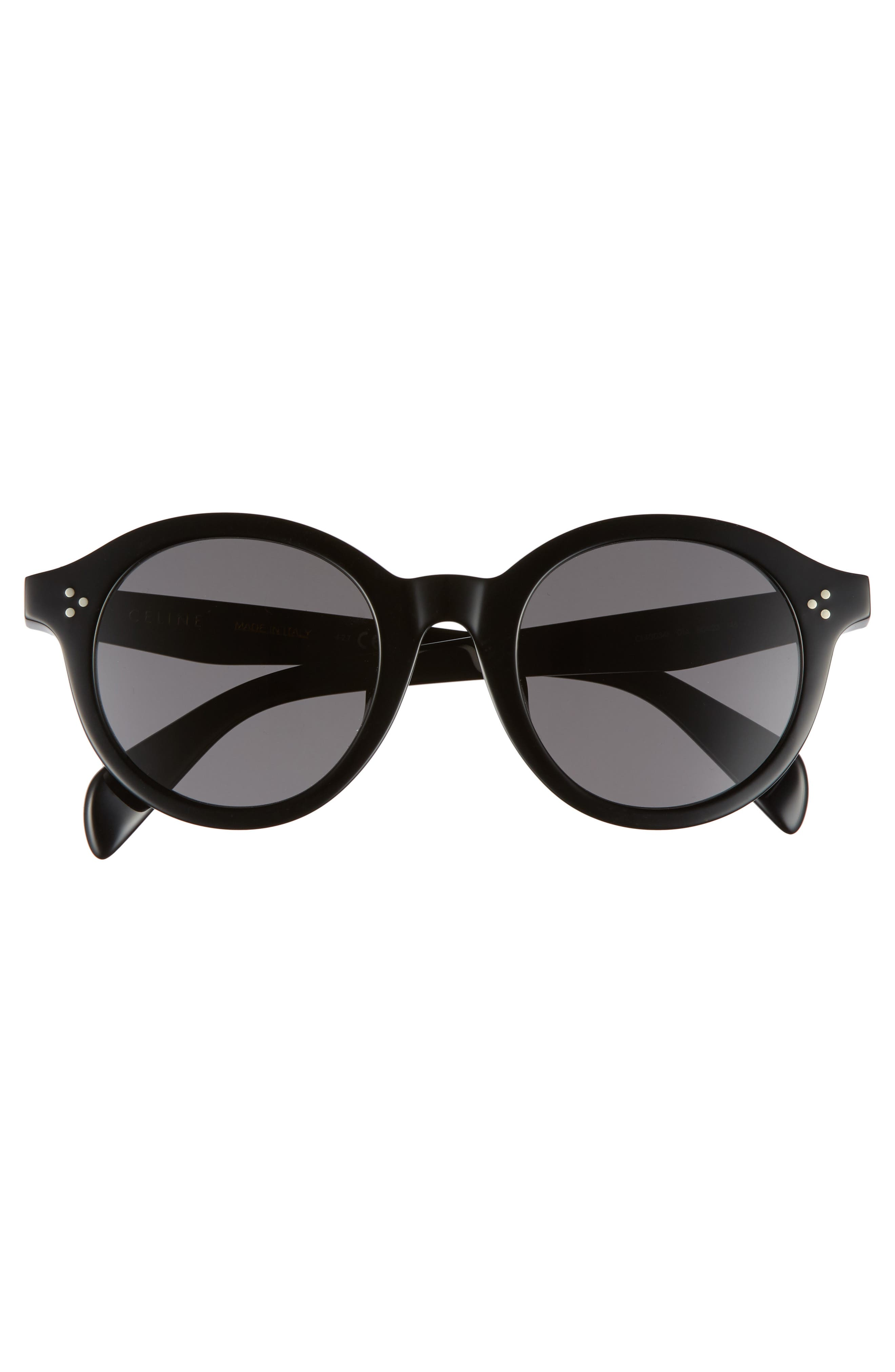 Alternate Image 3  - Céline Special Fit 50mm Round Sunglasses