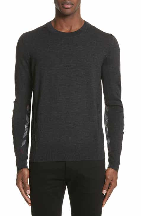 ecbd23ded0d5 Burberry Carter Merino Wool Crewneck Sweater