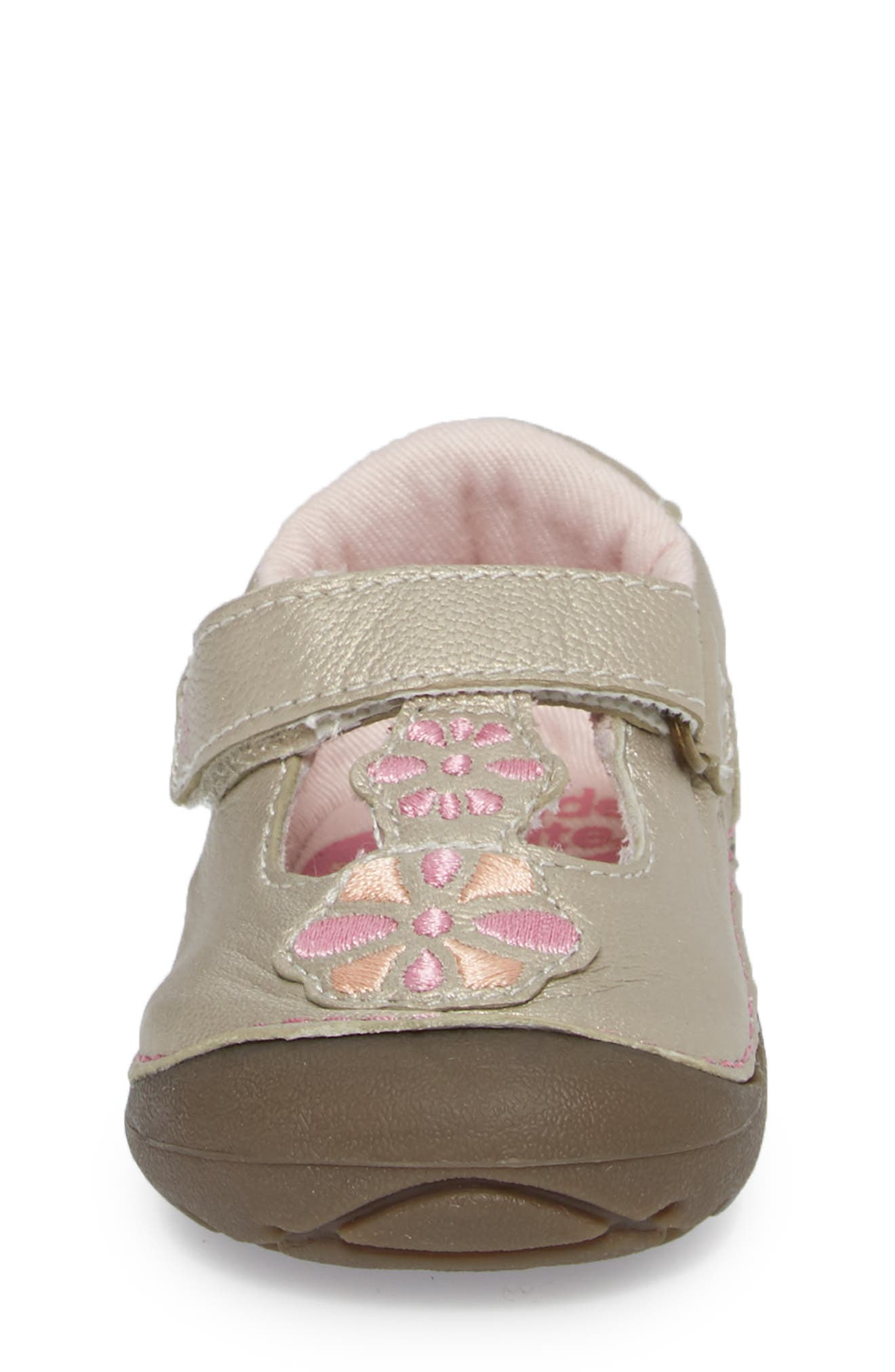Soft Motion<sup>™</sup> Kelly Sneaker,                             Alternate thumbnail 4, color,                             Champagne