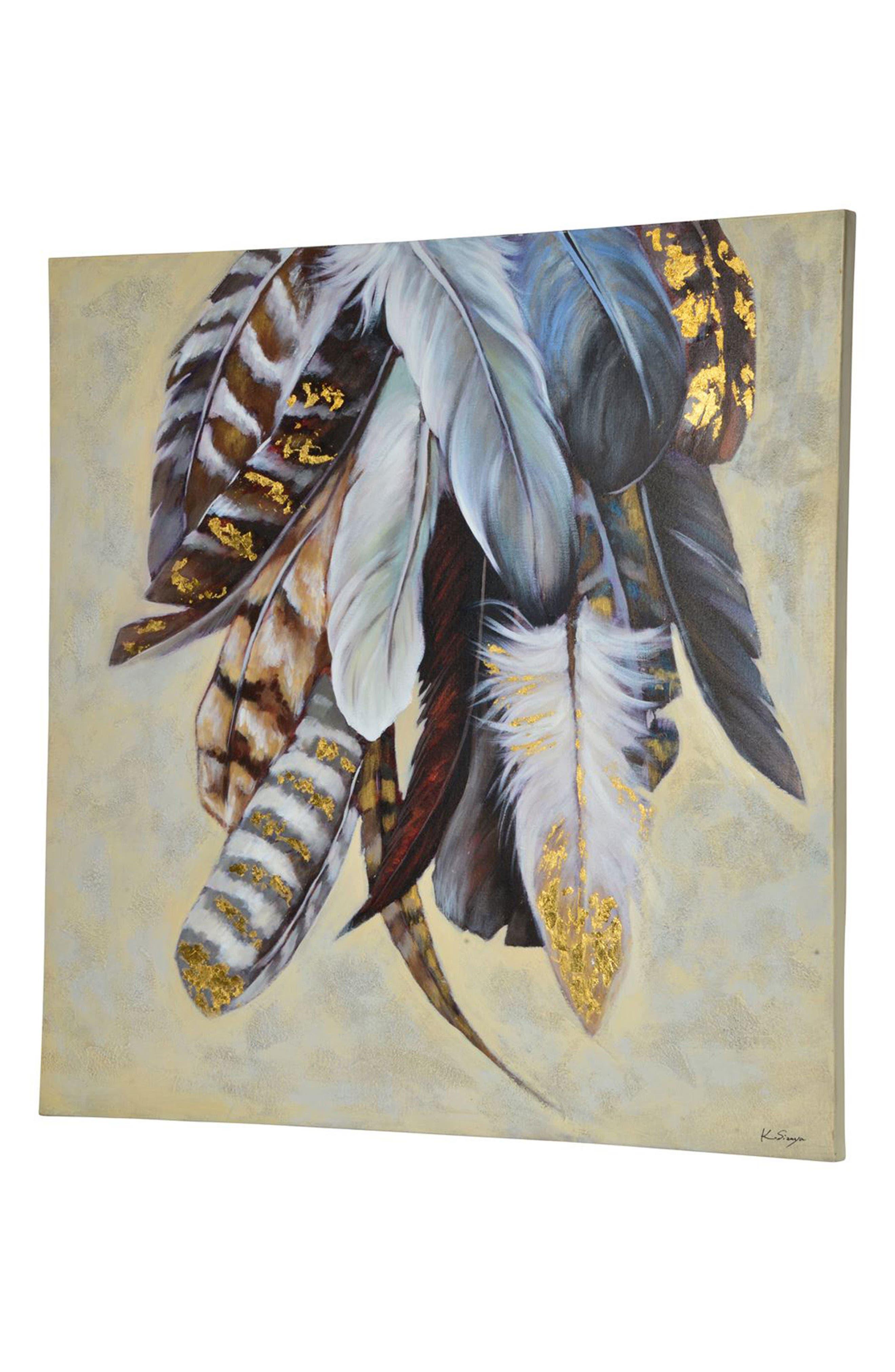 Feathertail Canvas Art,                             Alternate thumbnail 2, color,                             Multicolor
