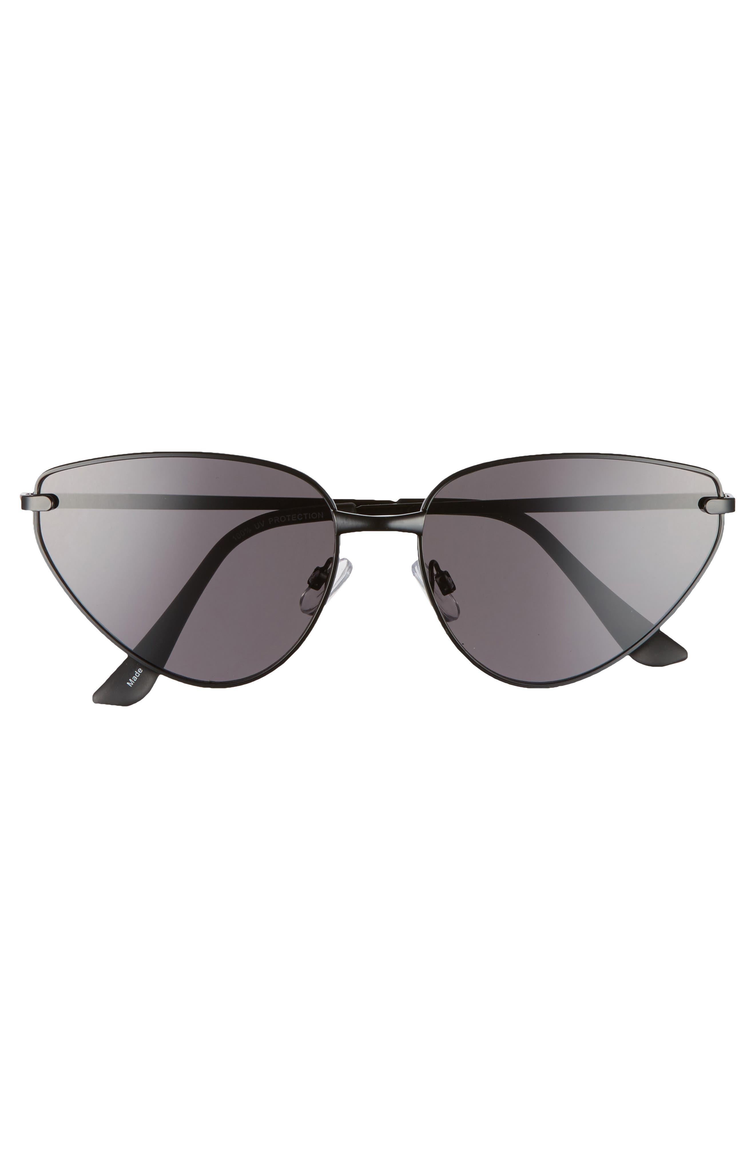 Alternate Image 3  - BP. 60mm Exaggerated Cat Eye Sunglasses