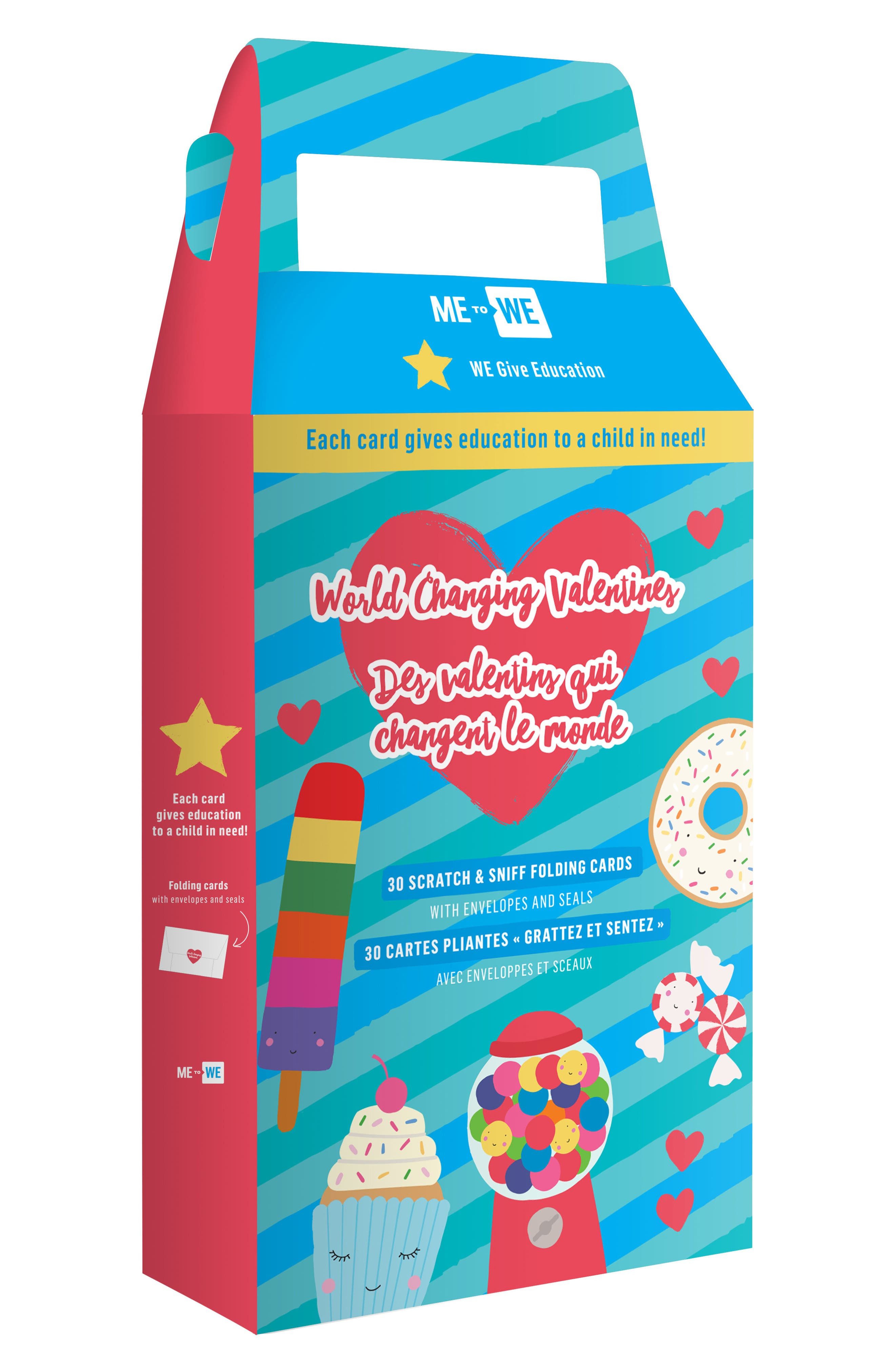 Main Image - Me to We Set of 30 Valentine's Day Scratch & Sniff Cards