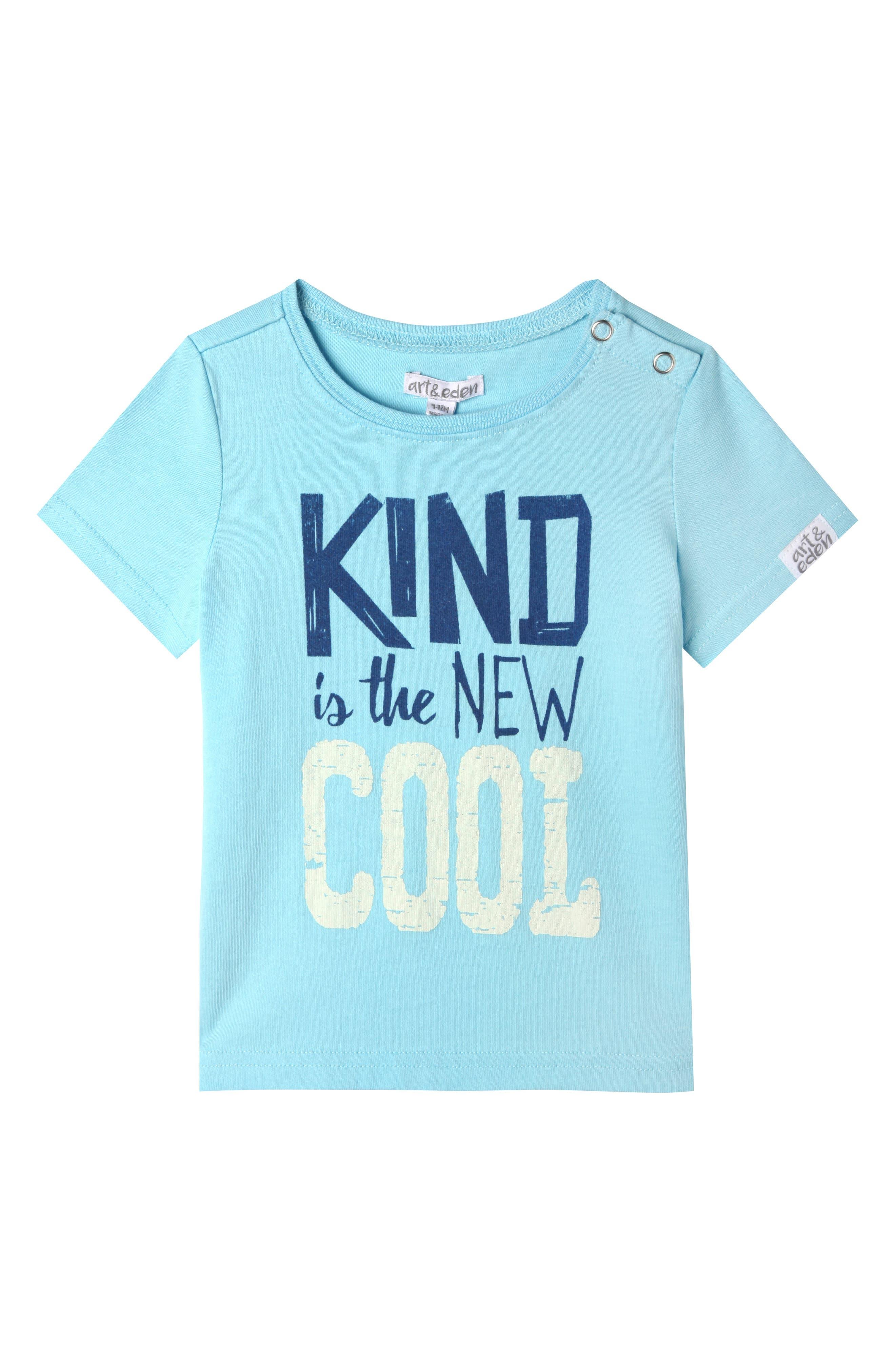 Joseph T-Shirt,                         Main,                         color, Wave Blue